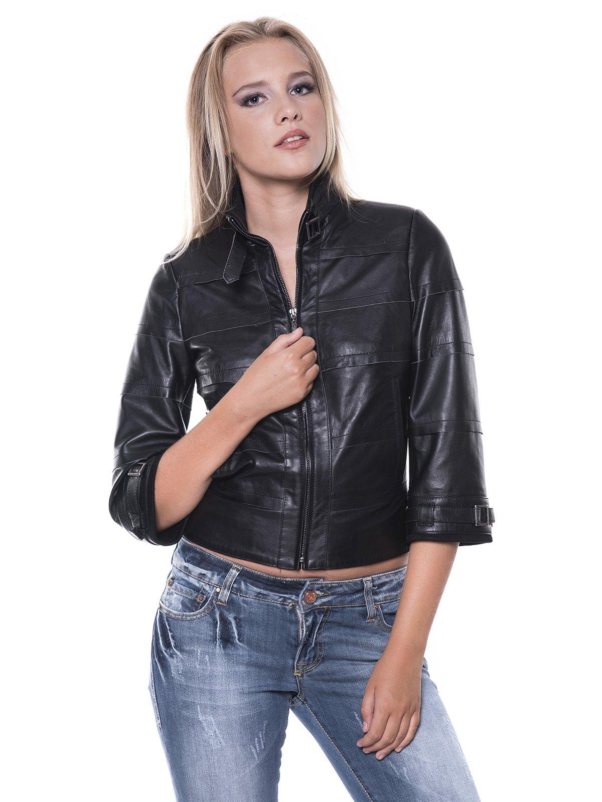 Куртка черная | 1897651 | фото 2