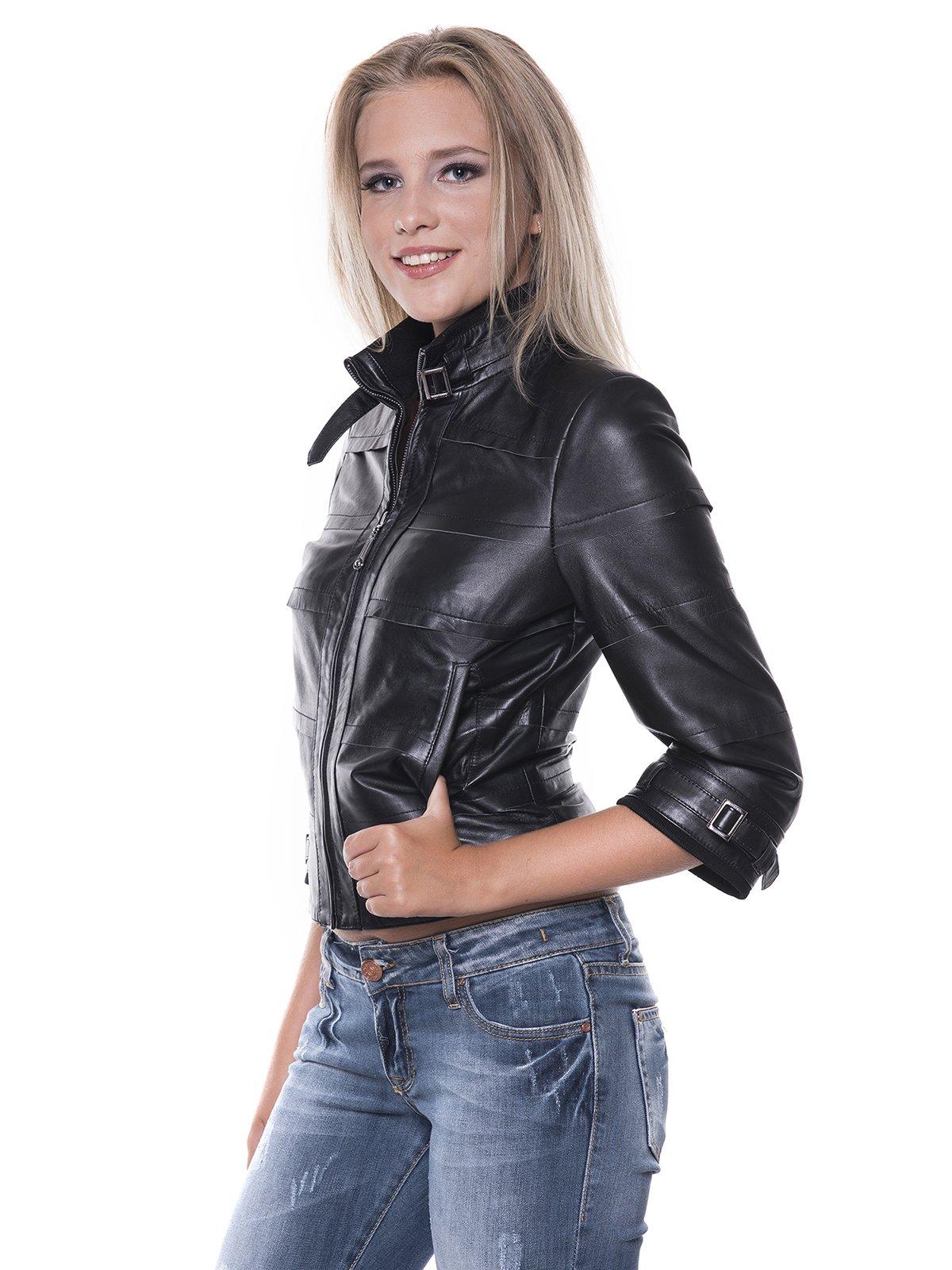 Куртка черная | 1897651 | фото 4