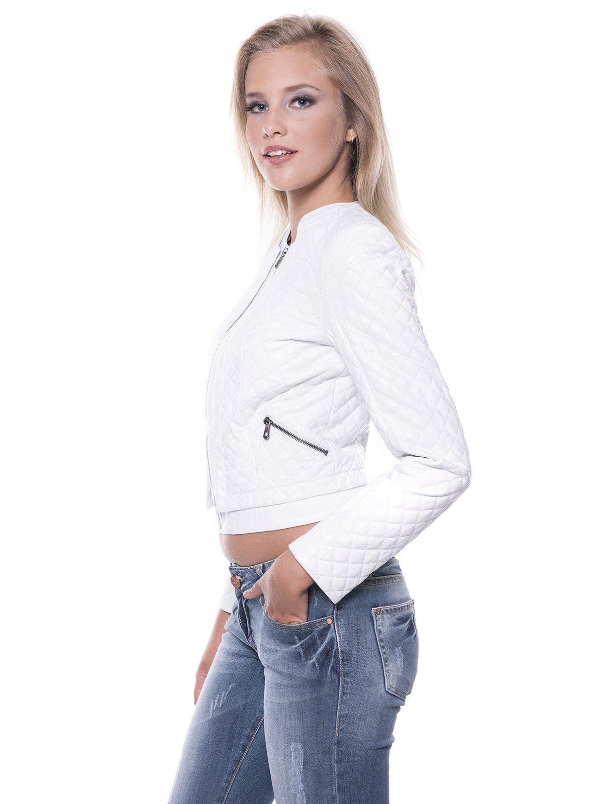 Куртка белая | 1897674 | фото 4