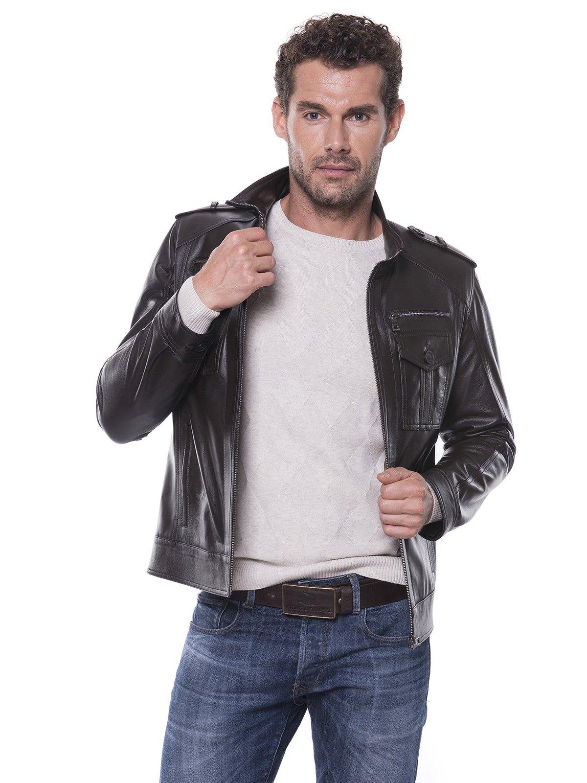 Куртка коричневая | 1897584
