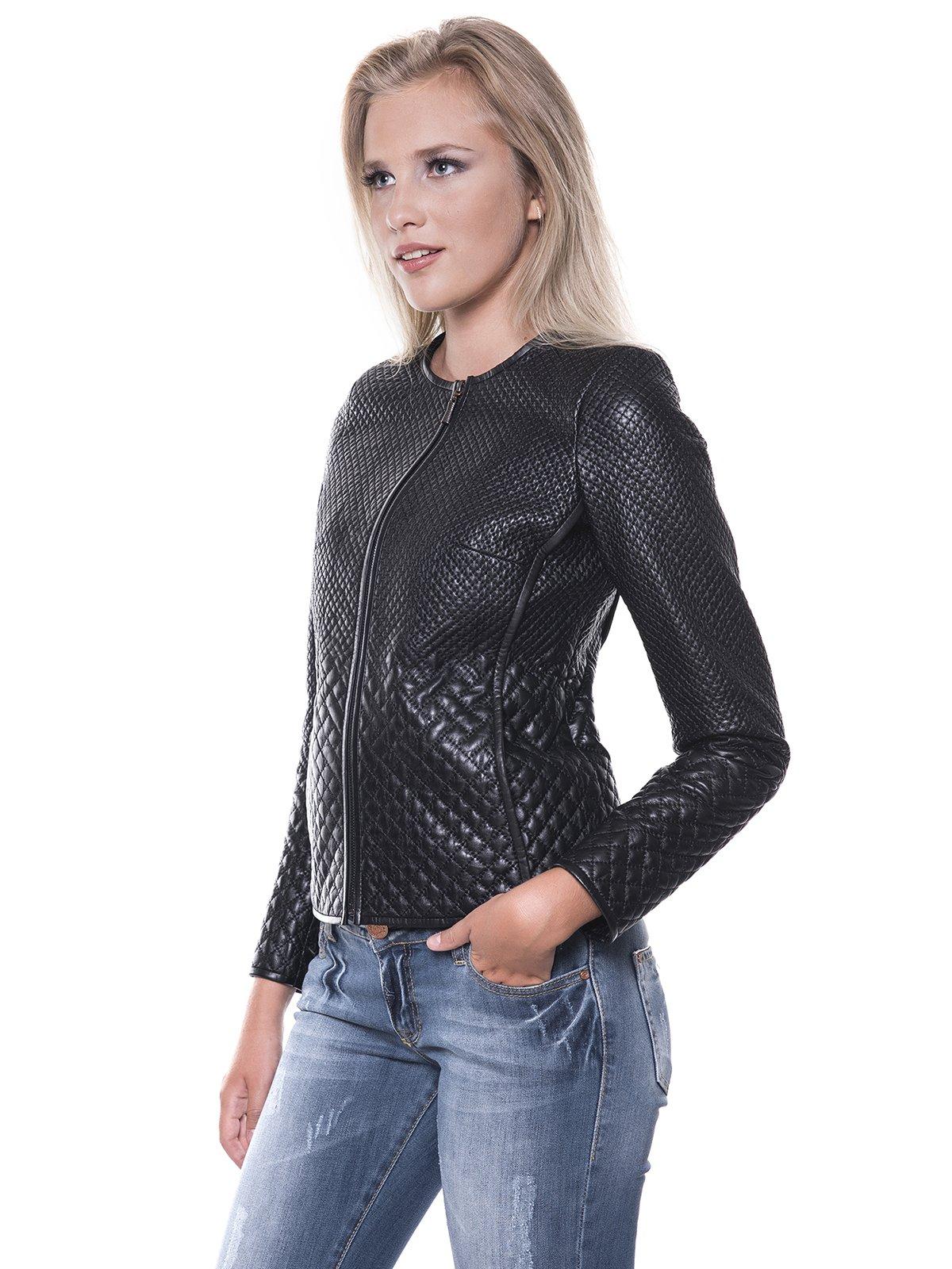 Куртка черная | 1897666 | фото 4