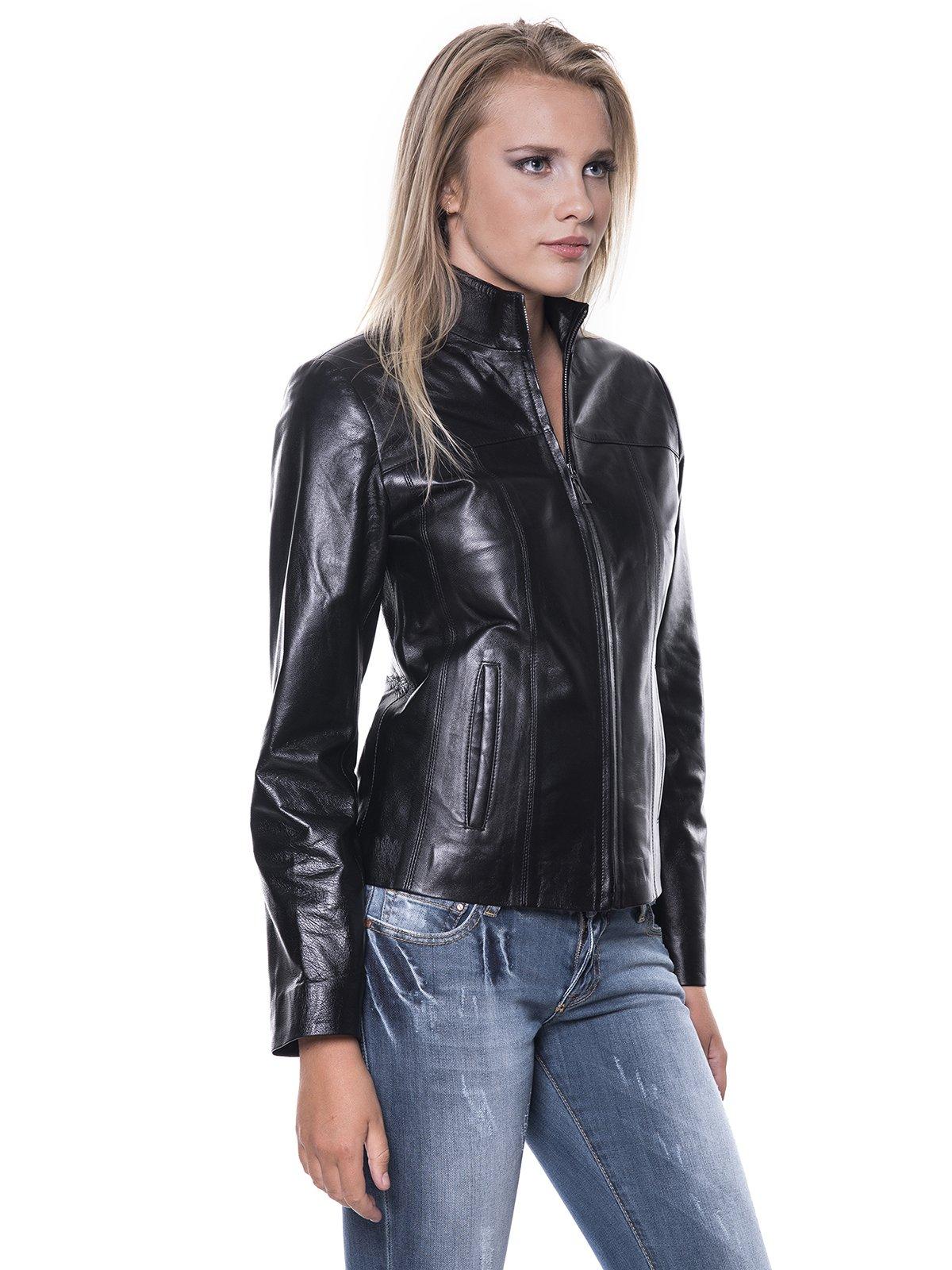 Куртка черная | 1897713 | фото 3