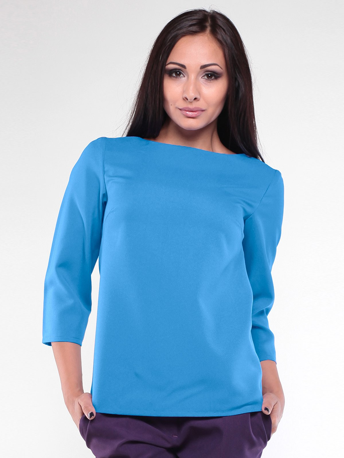 Блуза бирюзовая | 1896892
