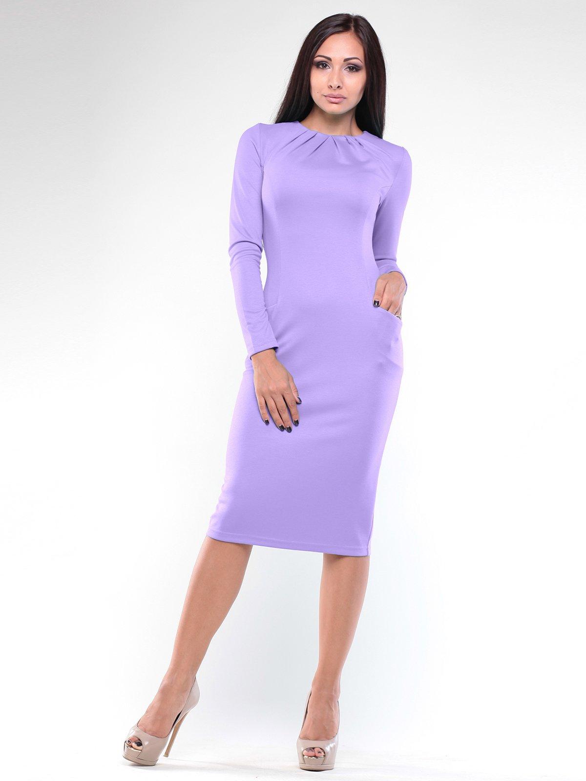 Сукня світло-фіалкового кольору | 1896936