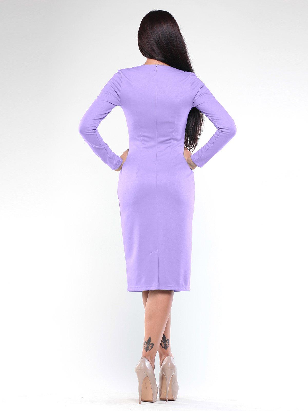 Платье светло-фиалкового цвета   1896936   фото 2
