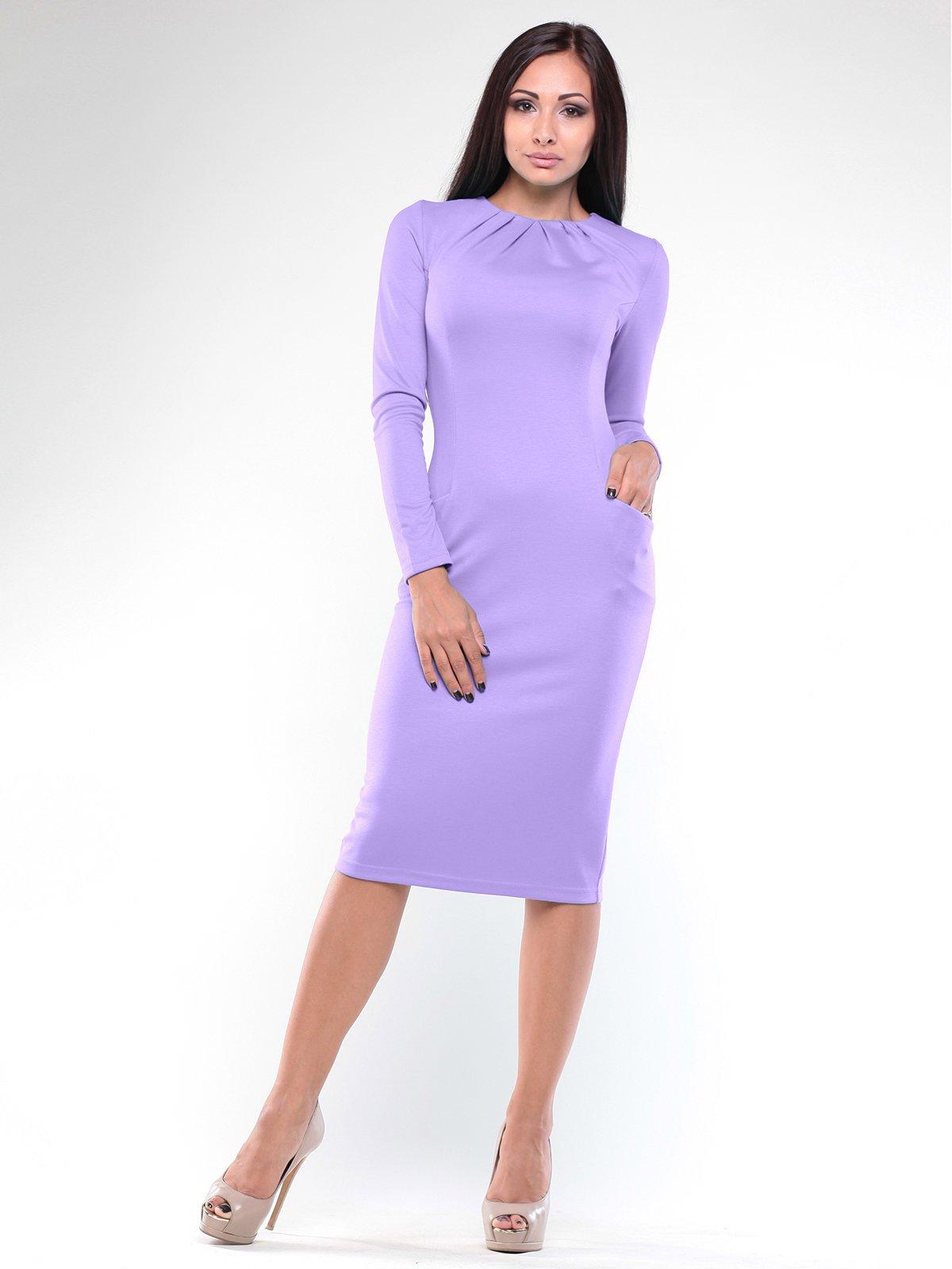 Платье светло-фиалкового цвета   1896936   фото 3