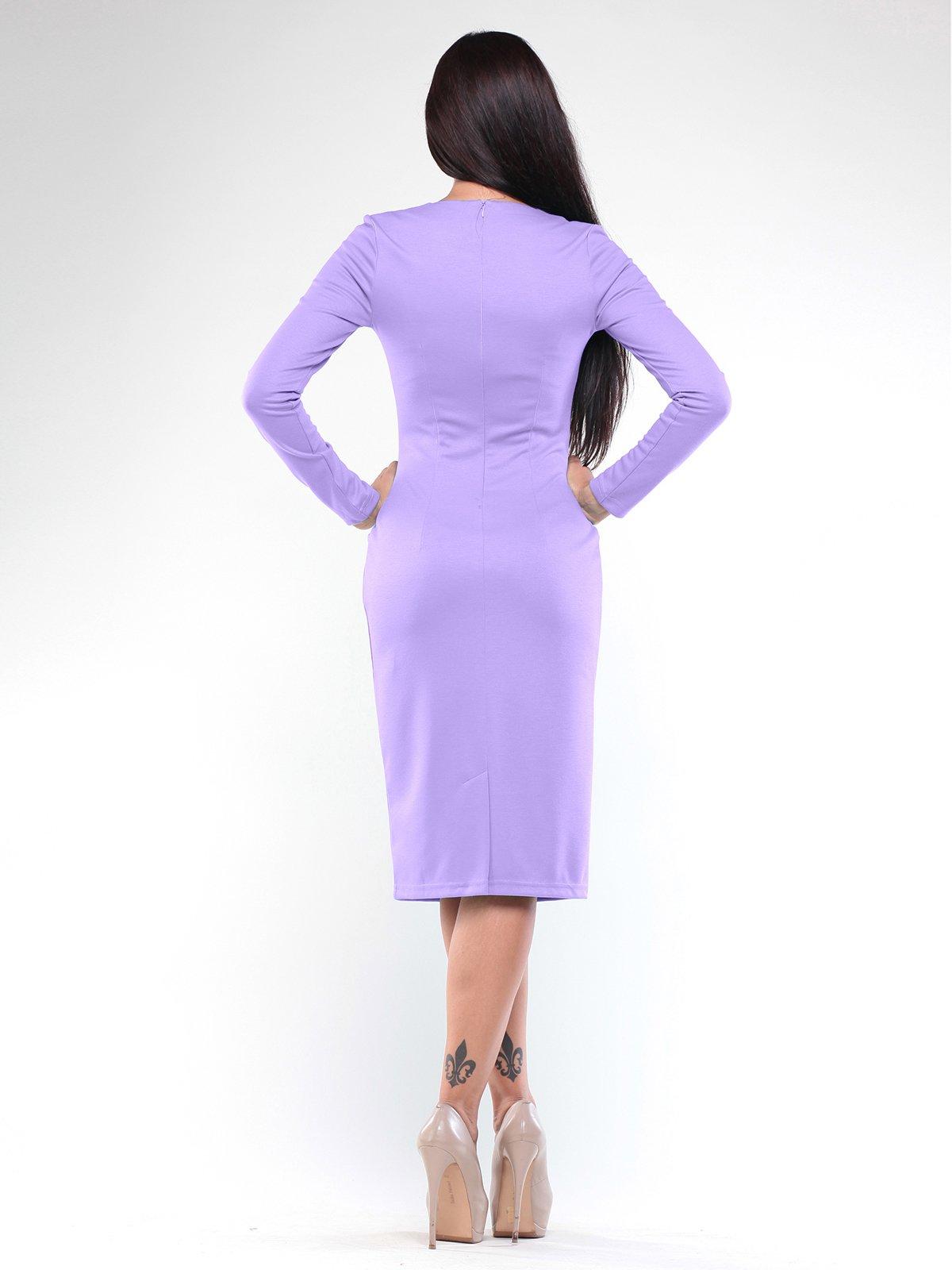 Платье светло-фиалкового цвета   1896936   фото 4
