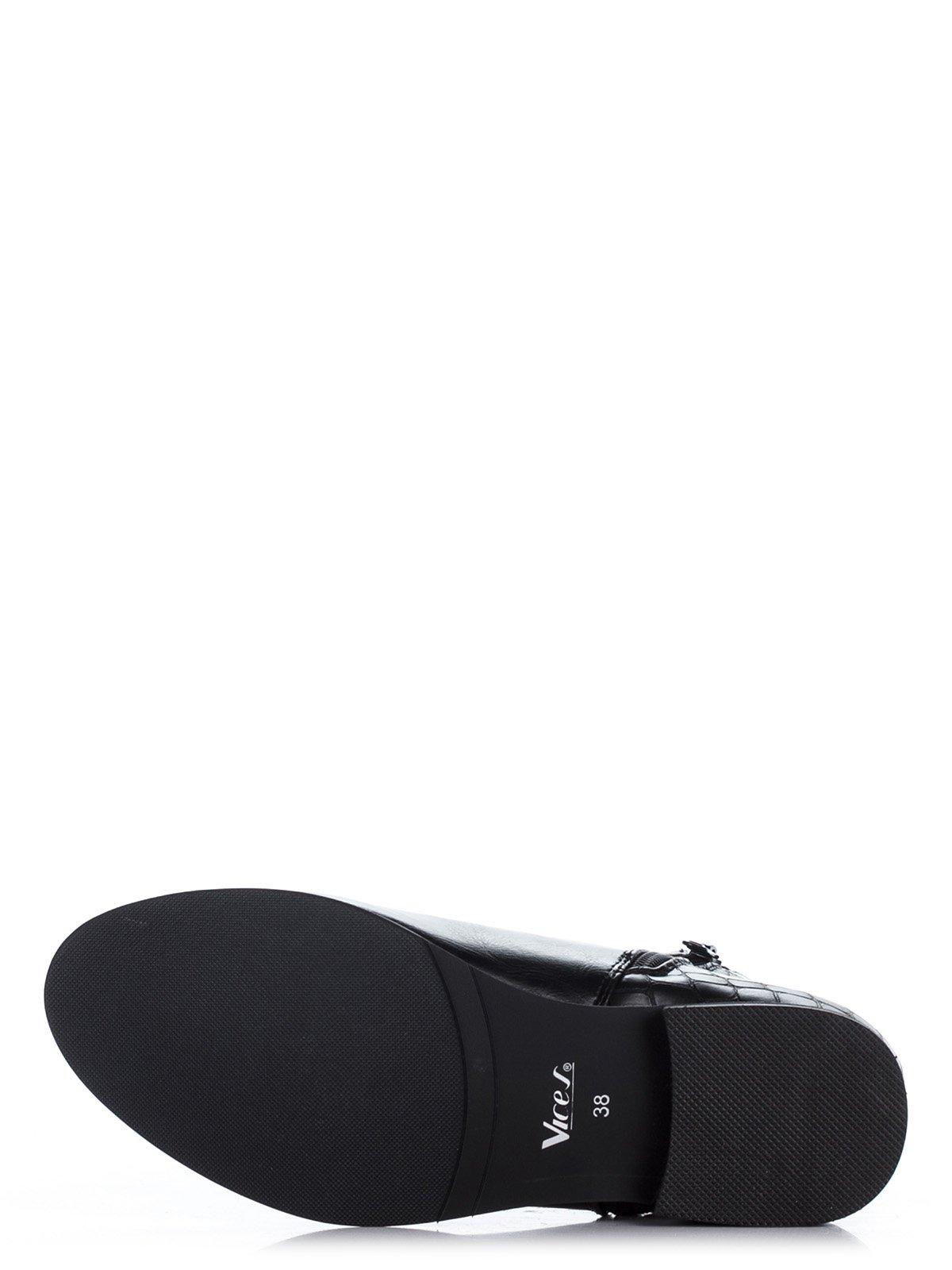 Ботинки черные | 1895487 | фото 4