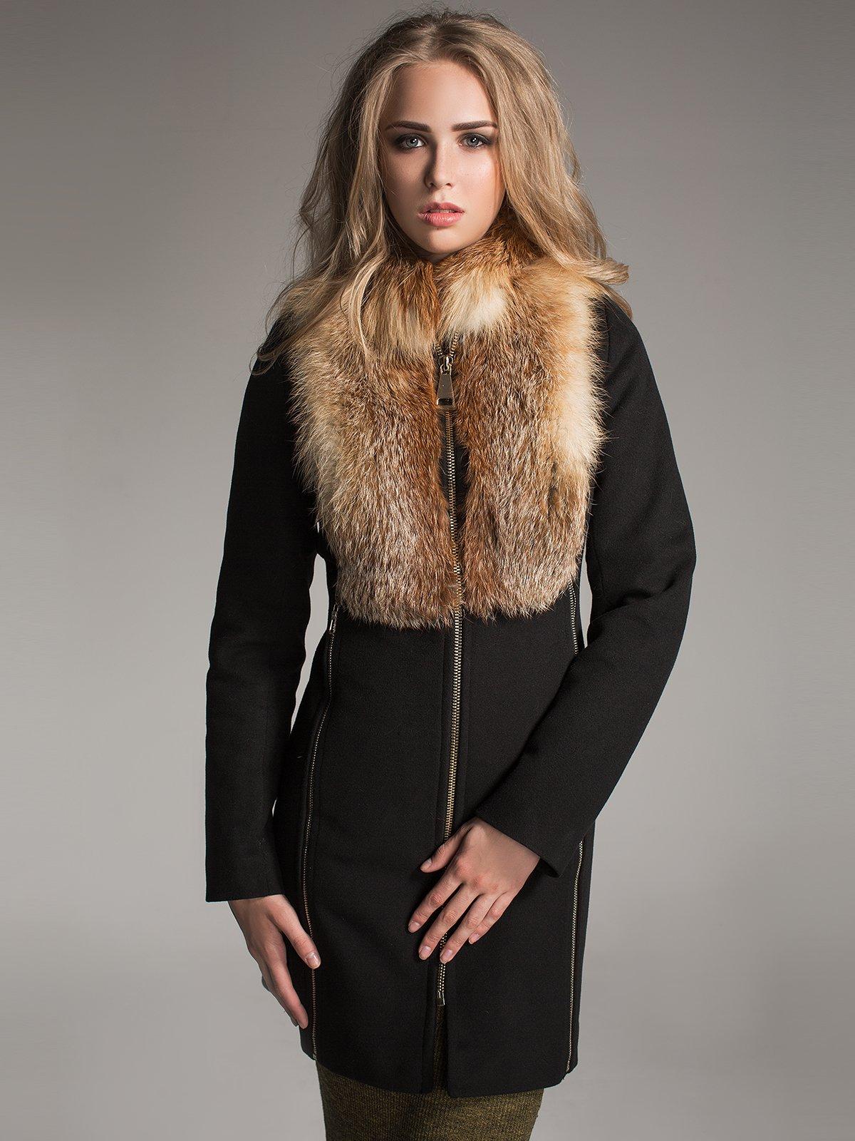 Пальто чорне | 1891320 | фото 2