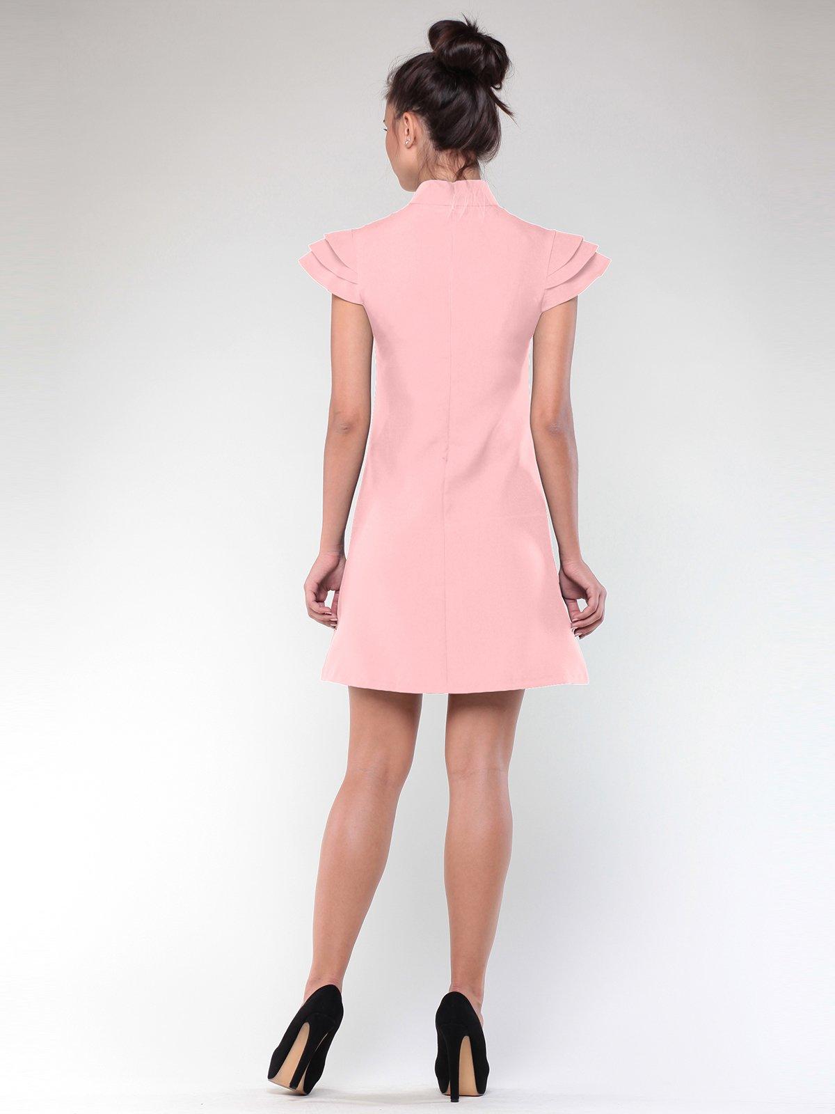 Платье персикового цвета   1908630   фото 4