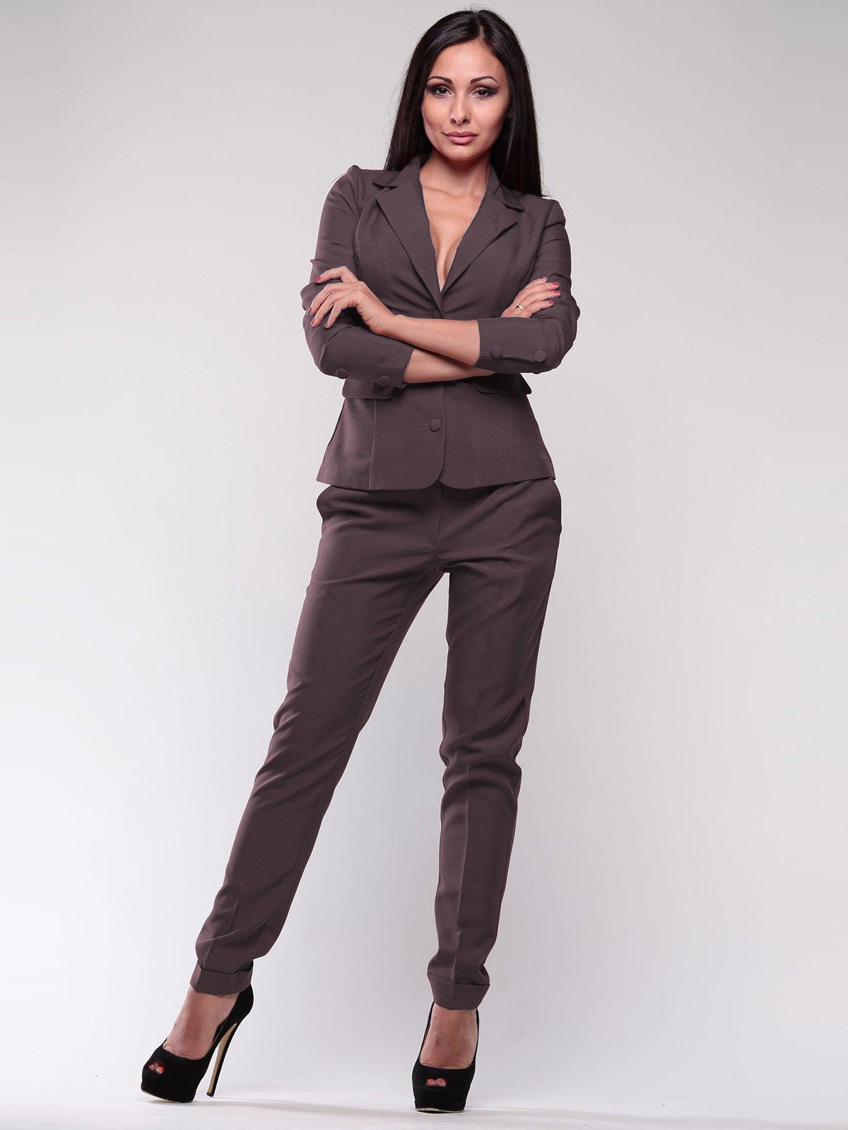 Костюм: жакет и брюки | 1912412