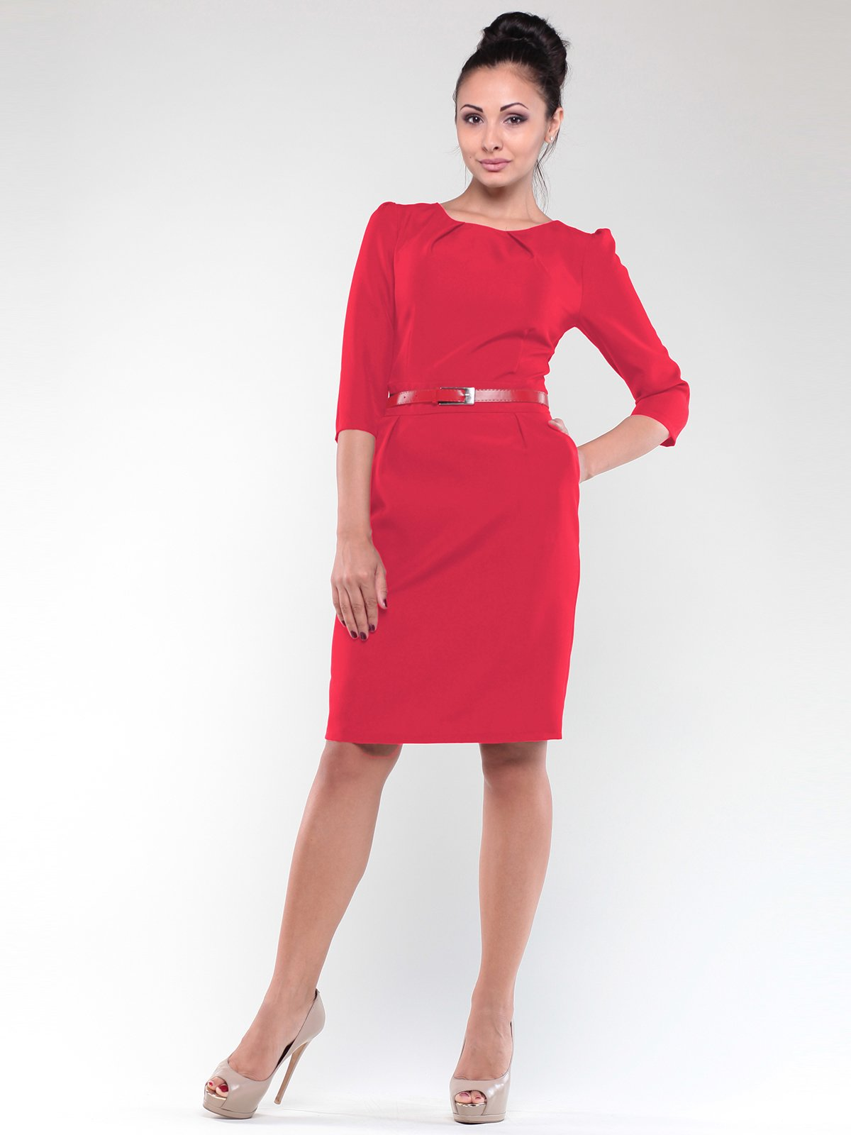 Платье красное | 1912484