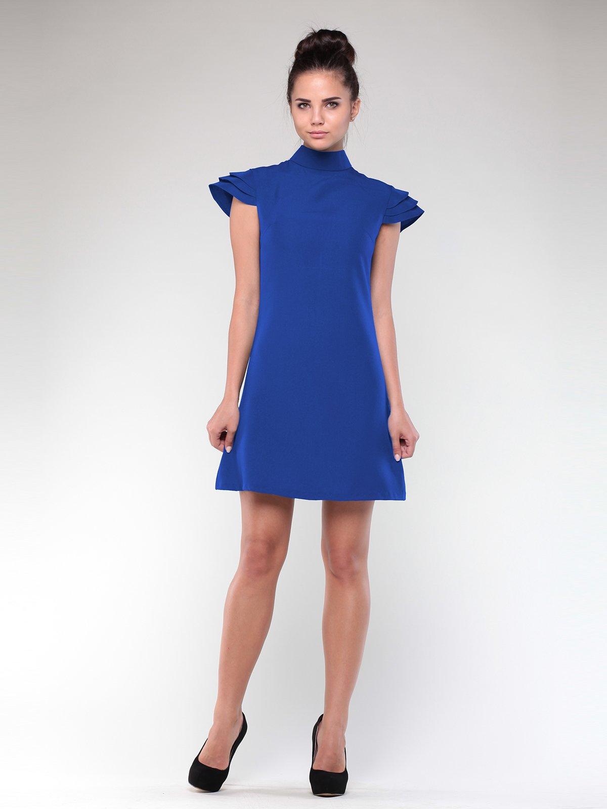 Платье цвета электрик   1912485