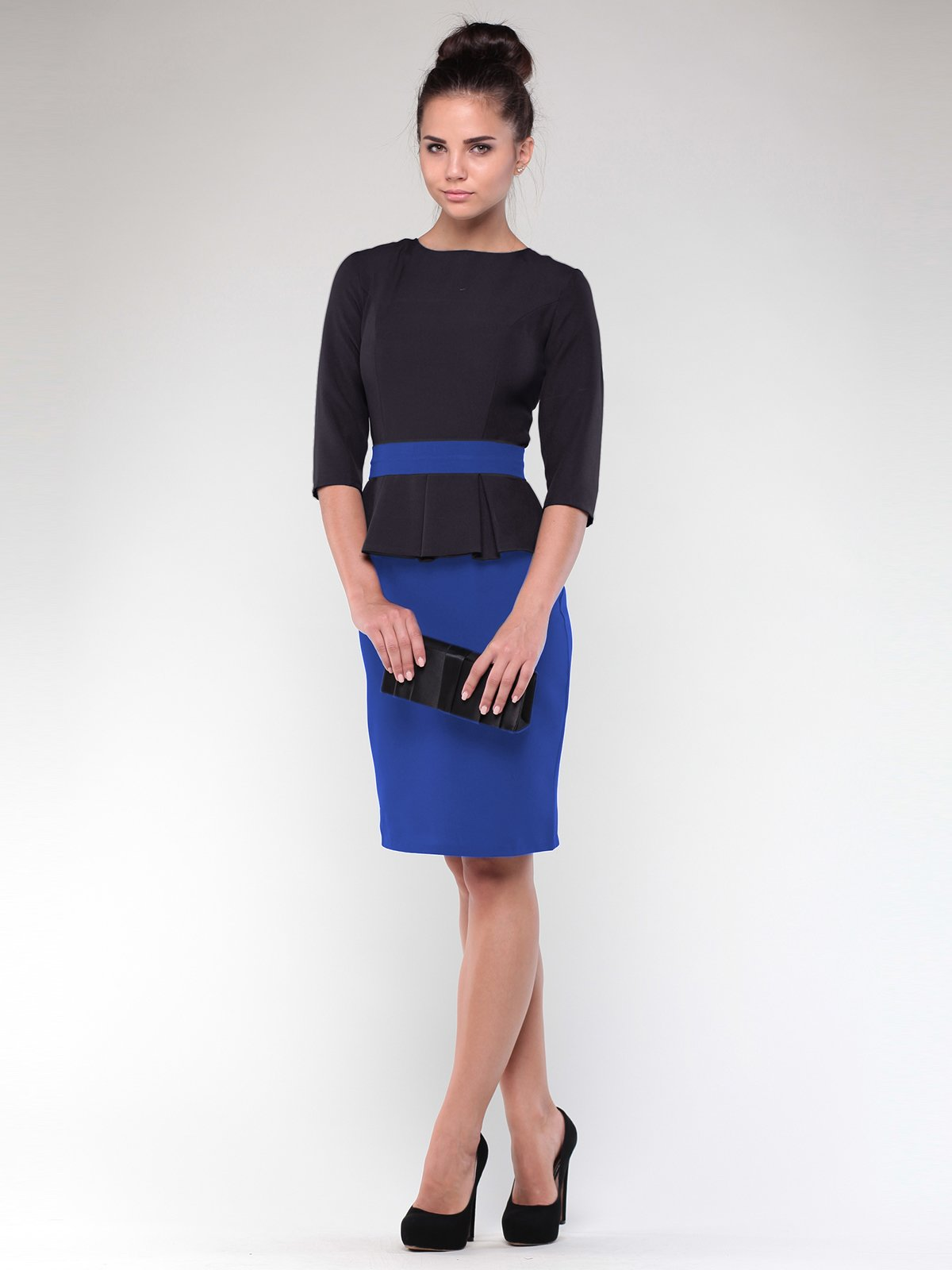 Сукня синьо-чорна | 1912504