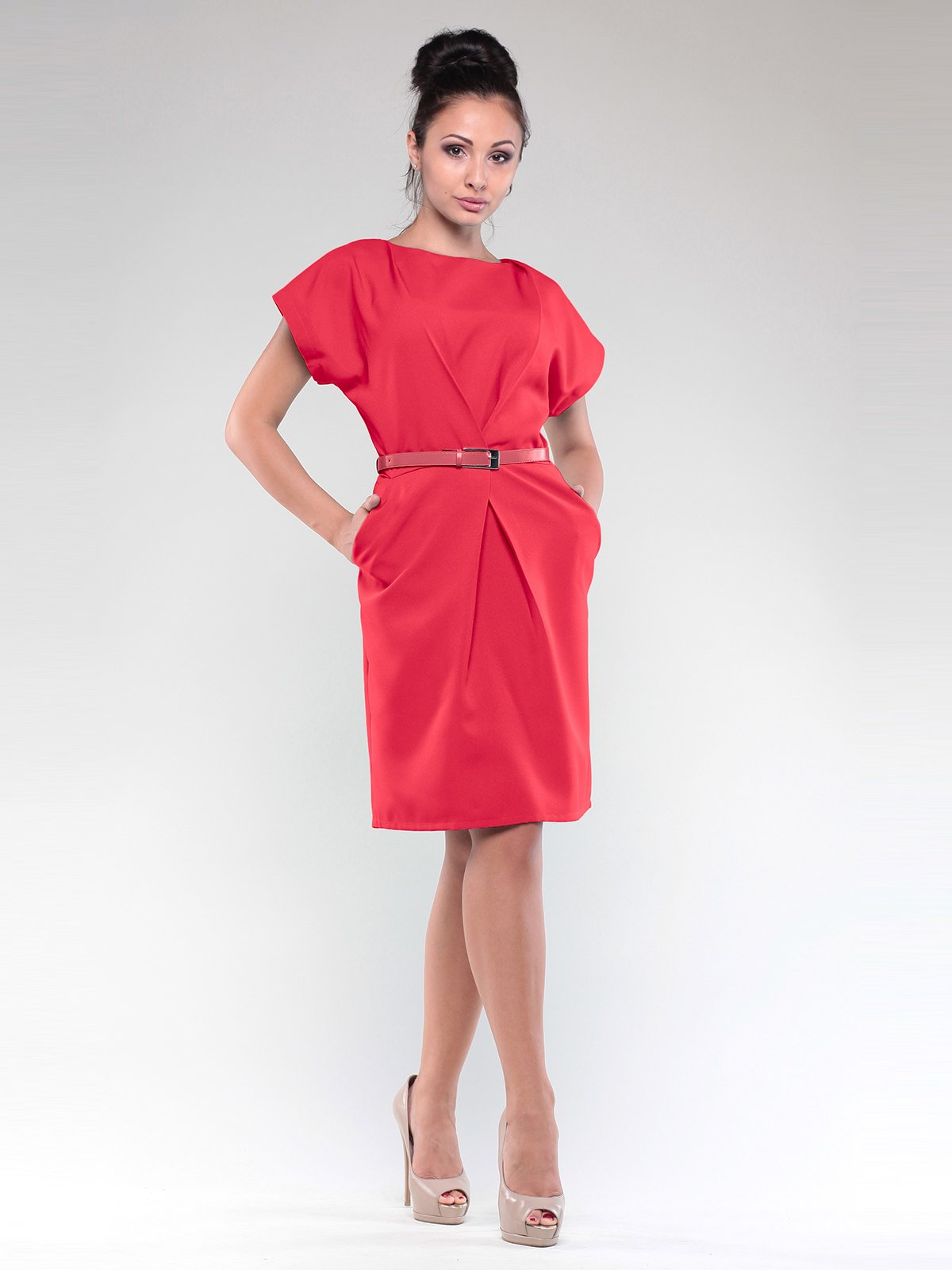 Платье красное | 1917724
