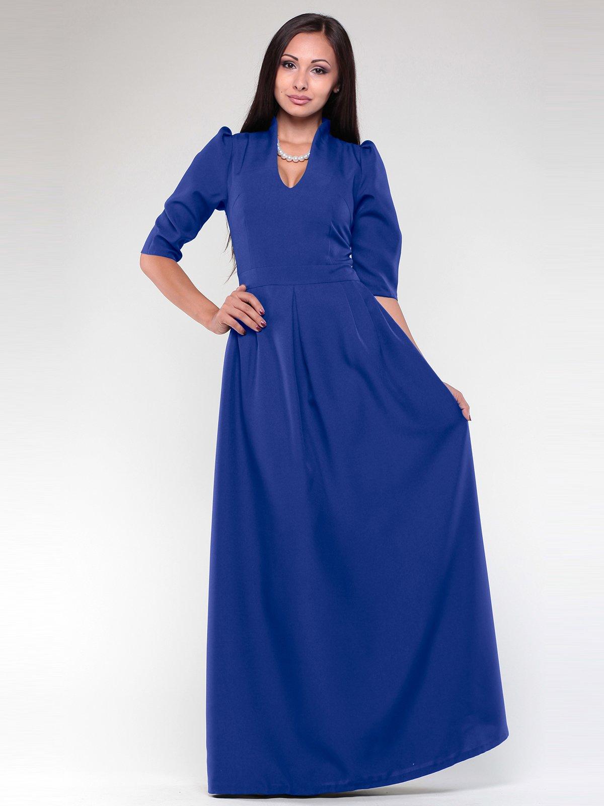 Сукня кольору електрик | 1918724