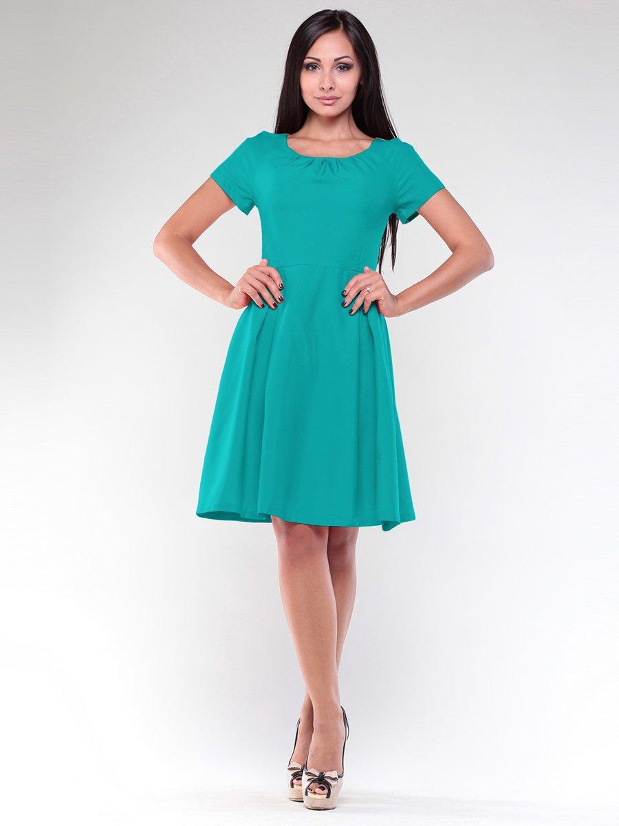 Сукня темно-ментолового кольору | 1927058