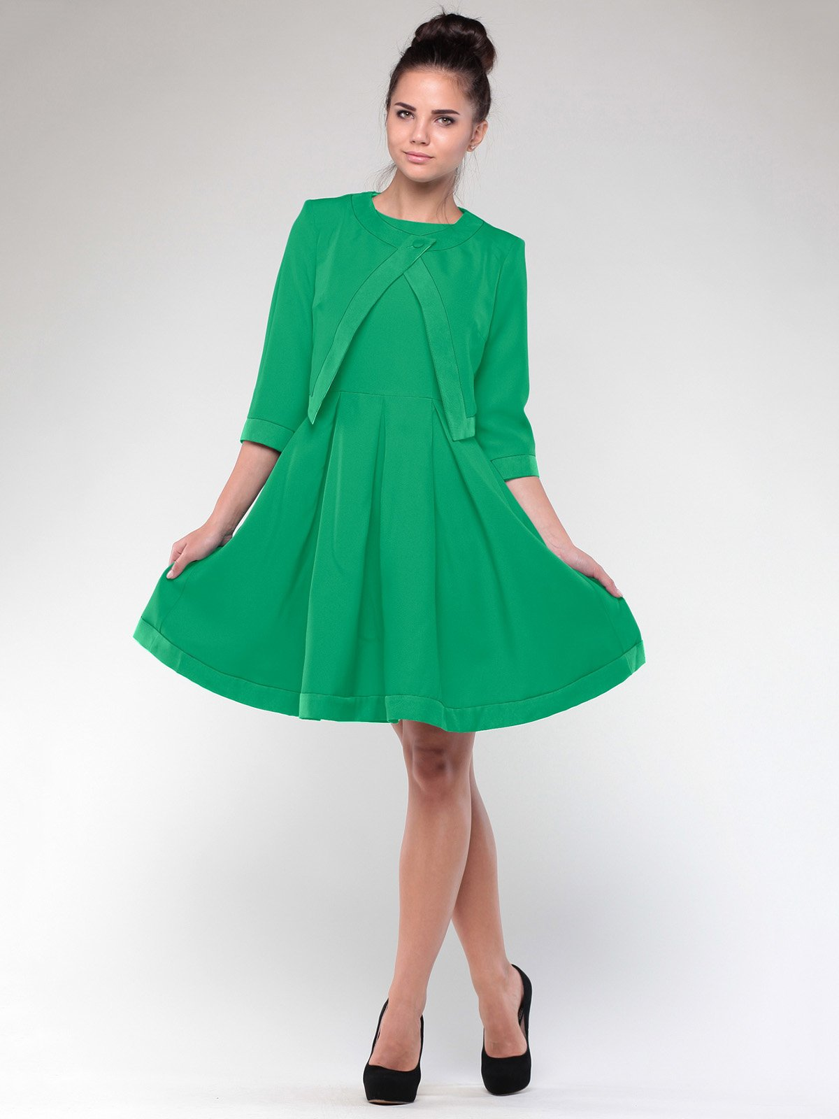 Комплект: сукня і жакет | 1927767