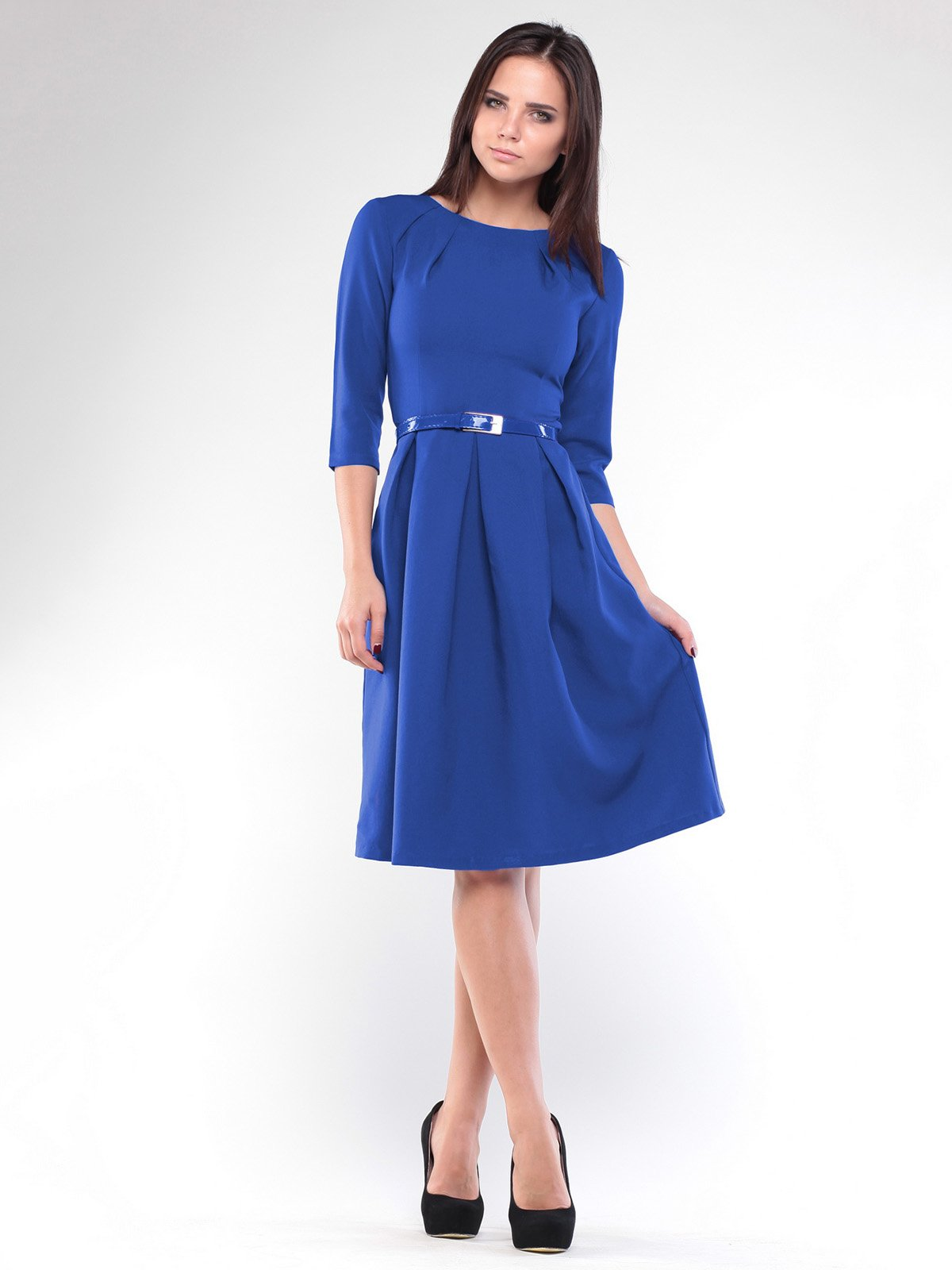 Платье цвета электрик | 1927774