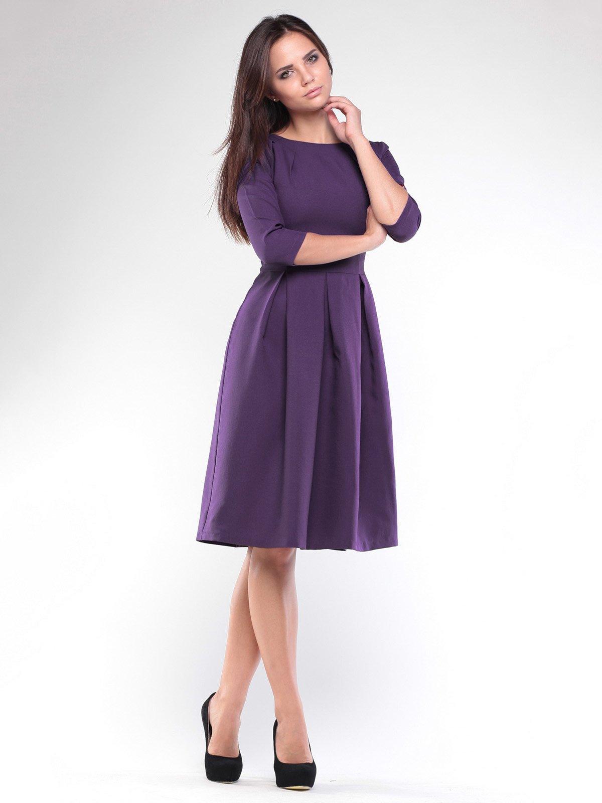 Платье темно-фиолетовое | 1927775
