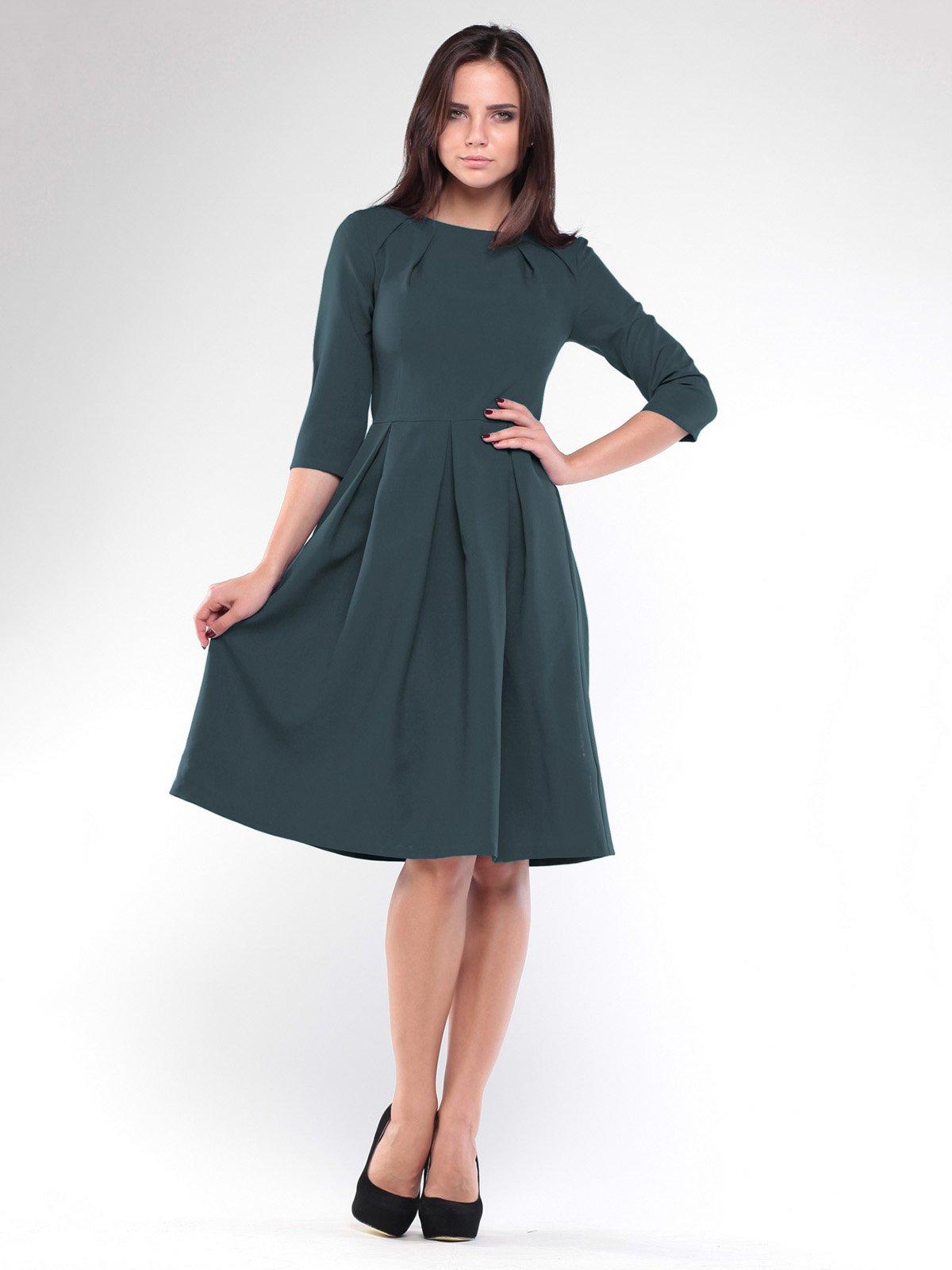 Сукня темно-смарагдового кольору | 1927778