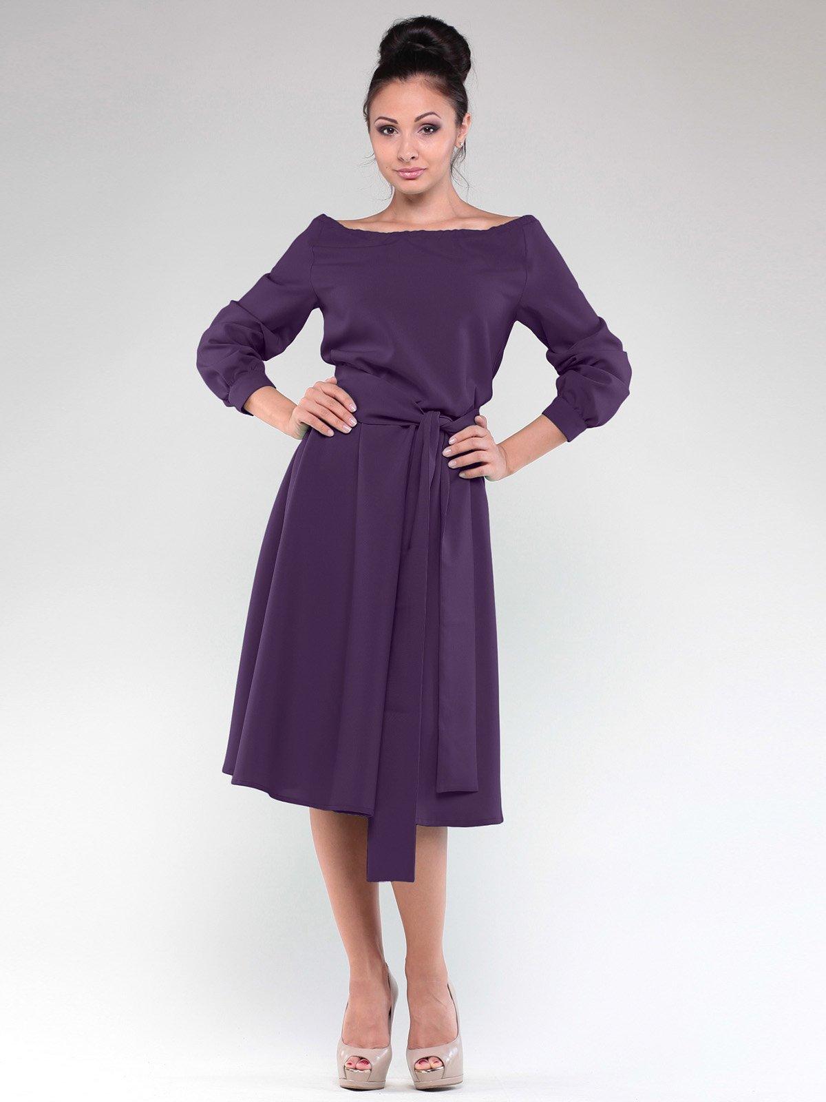 Сукня темно-фіолетова   1927787