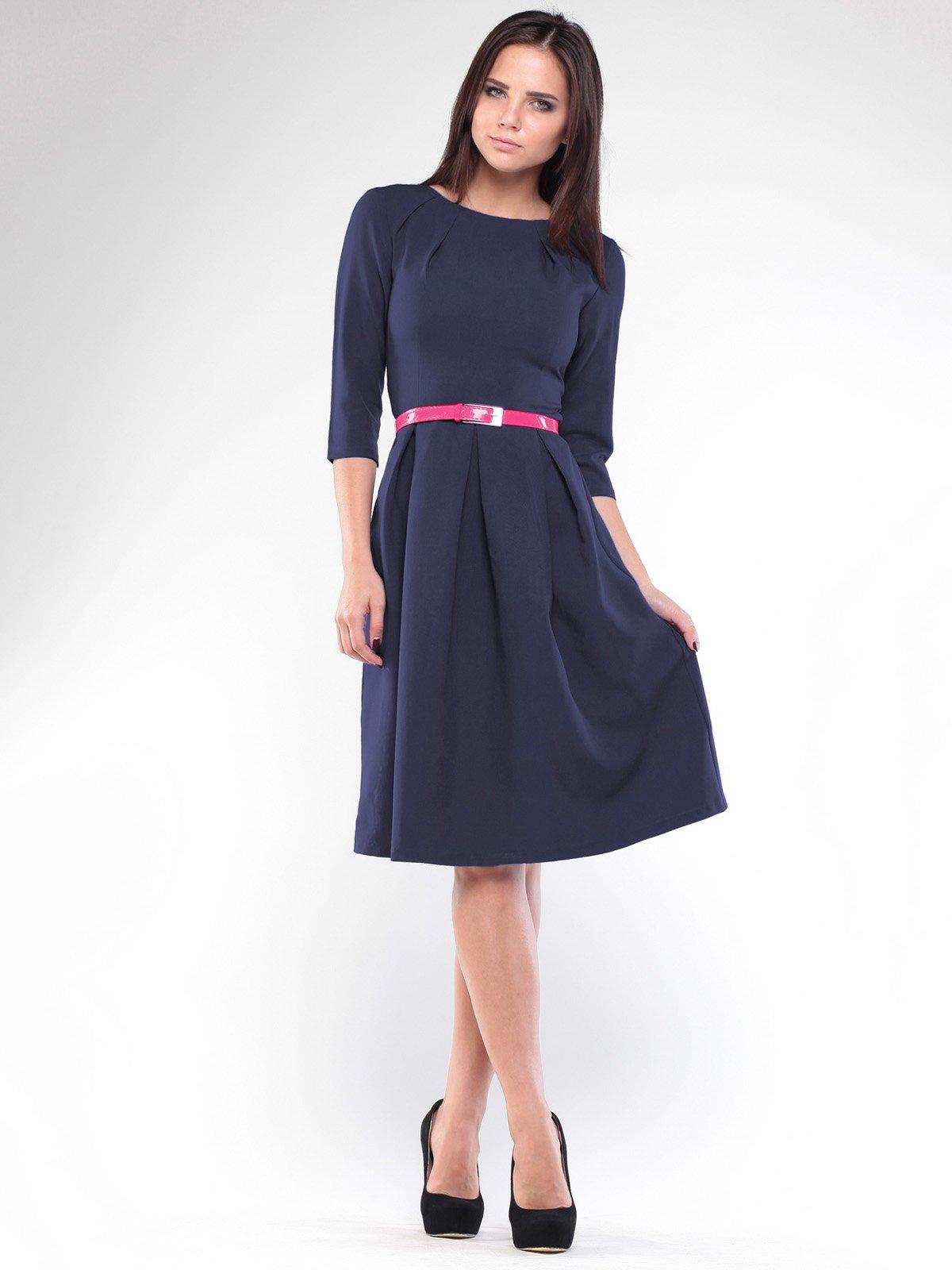 Платье темно-синее | 1927779 | фото 3