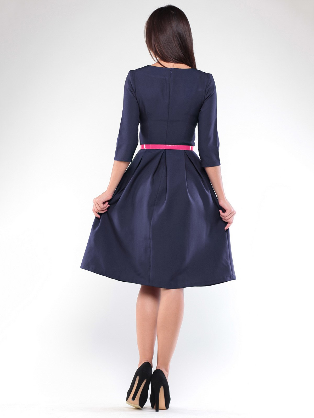 Платье темно-синее | 1927779 | фото 4