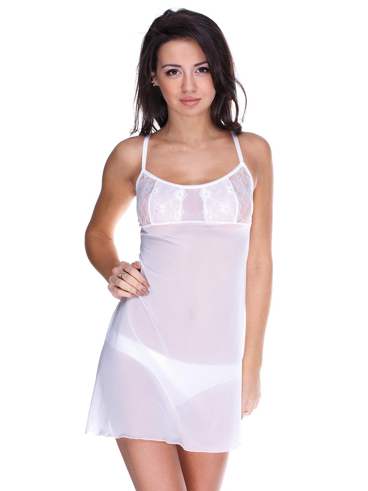 Рубашка ночная белая | 1926611