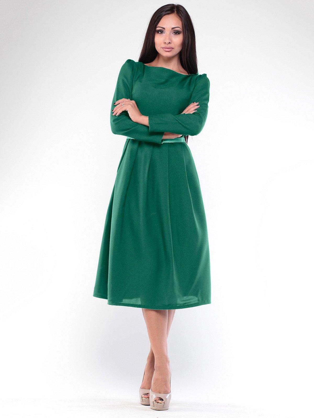 Платье изумрудное | 1935719