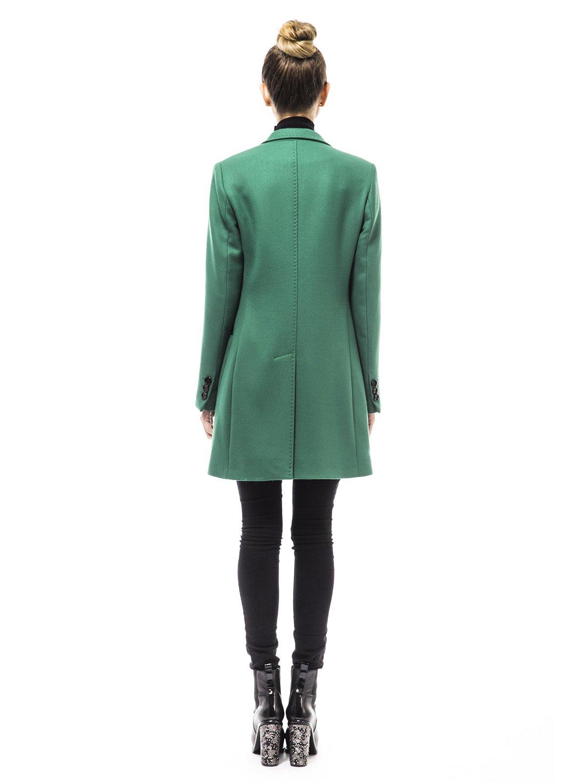Пальто зеленое | 1938462 | фото 3