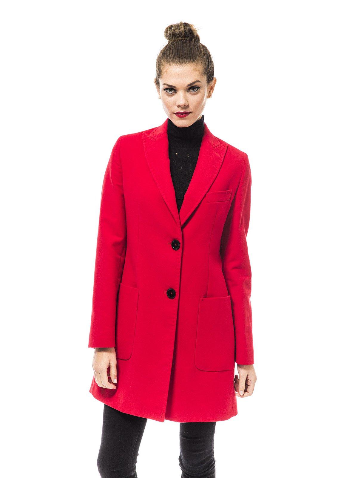 Пальто красное | 1938465