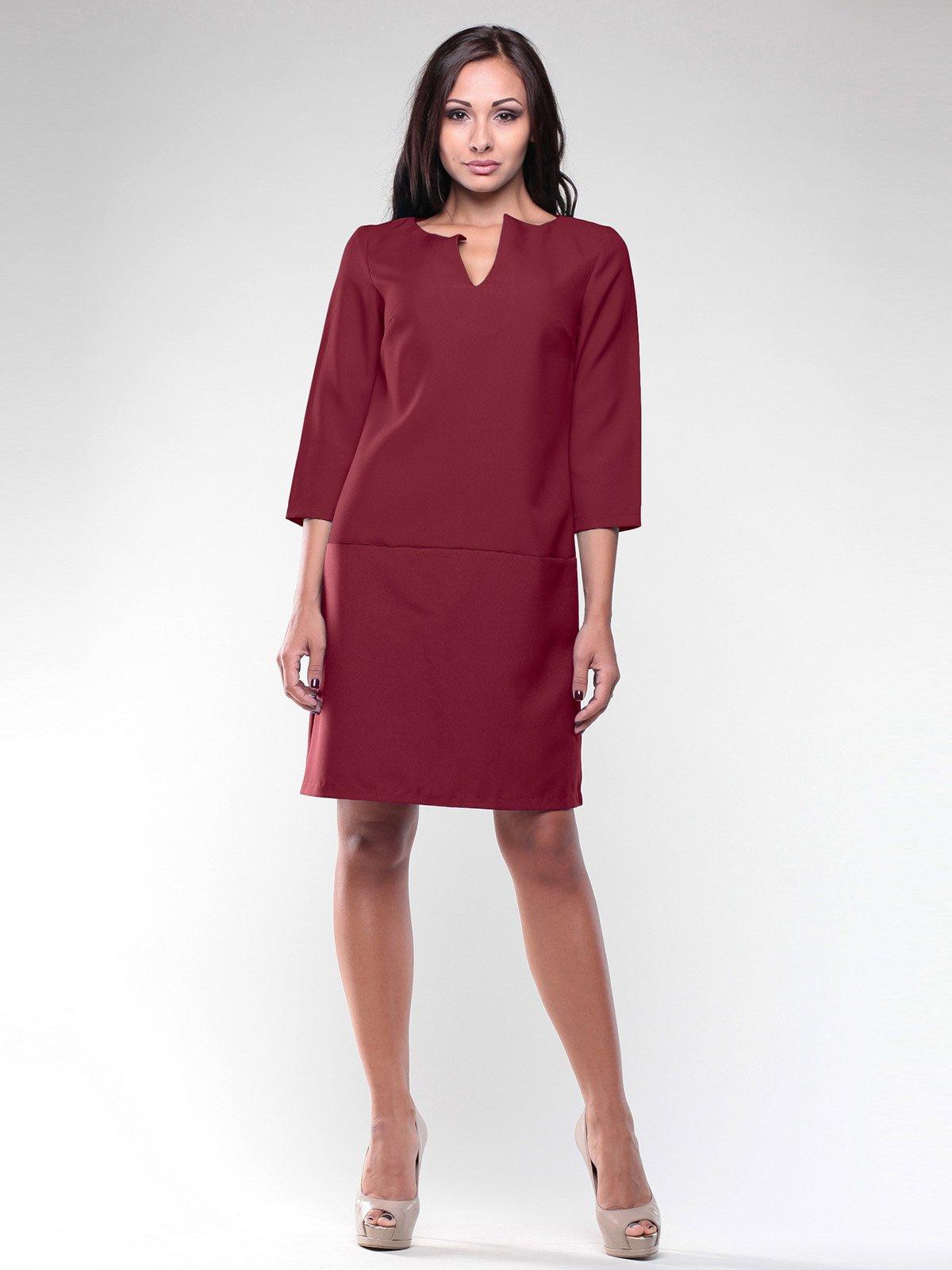 Платье сливового цвета   1946784