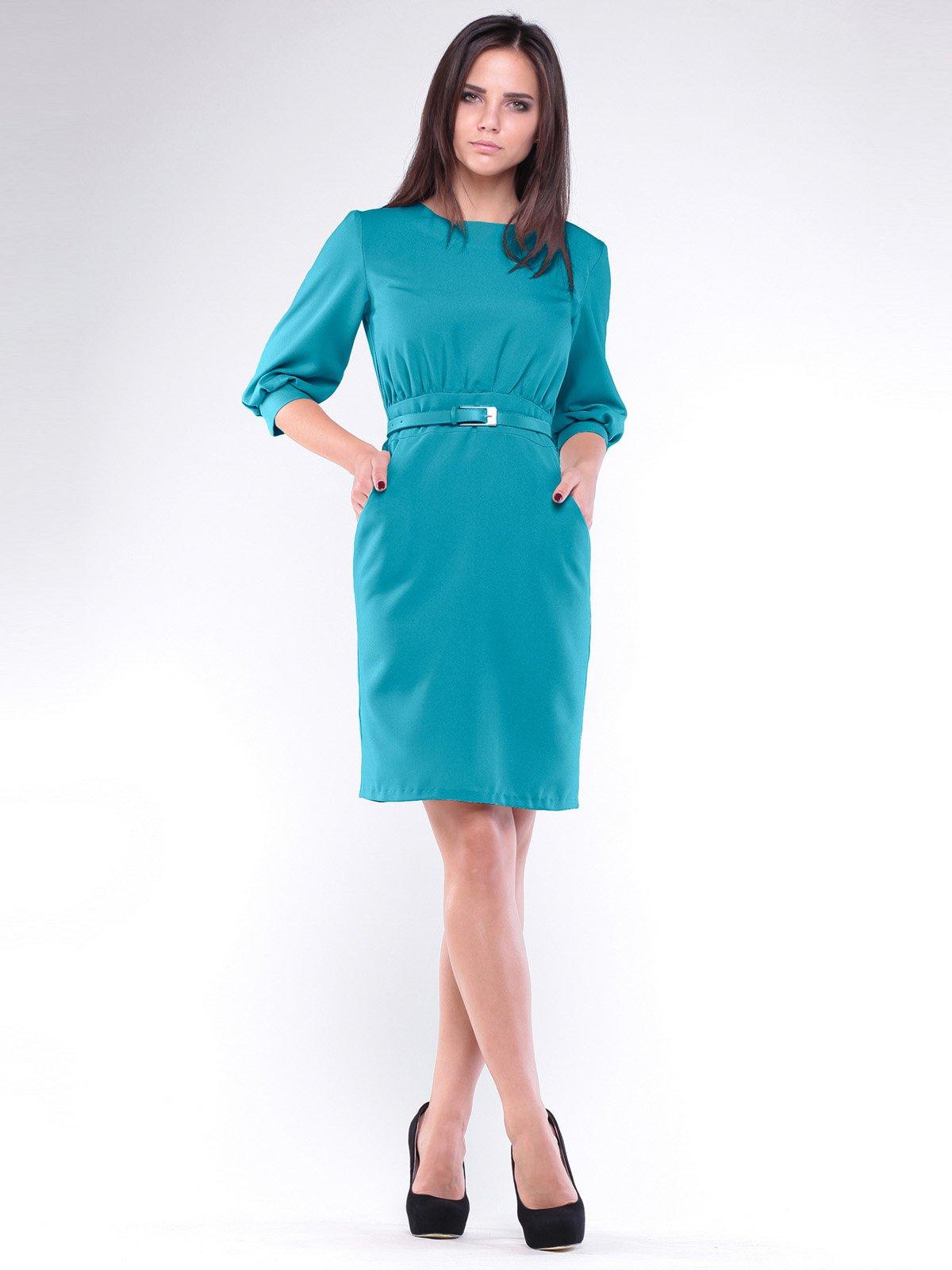 Платье бирюзовое   1946839