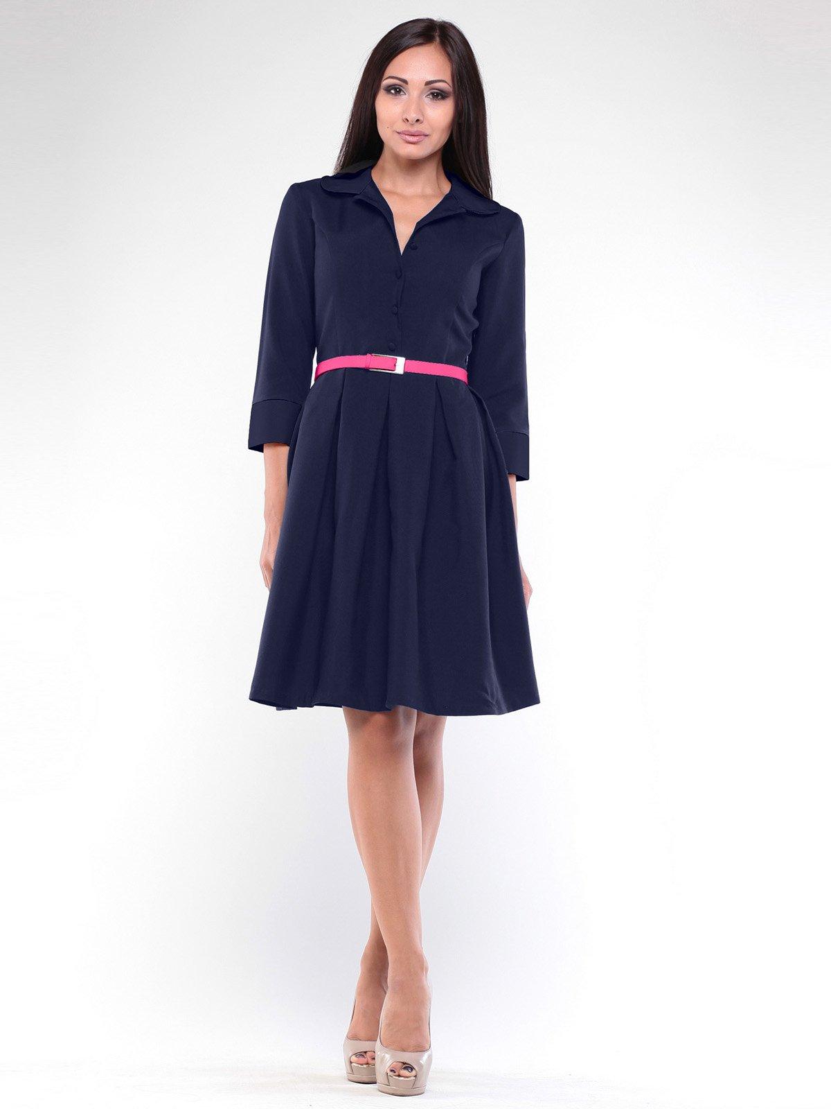 Платье темно-синее | 1946848