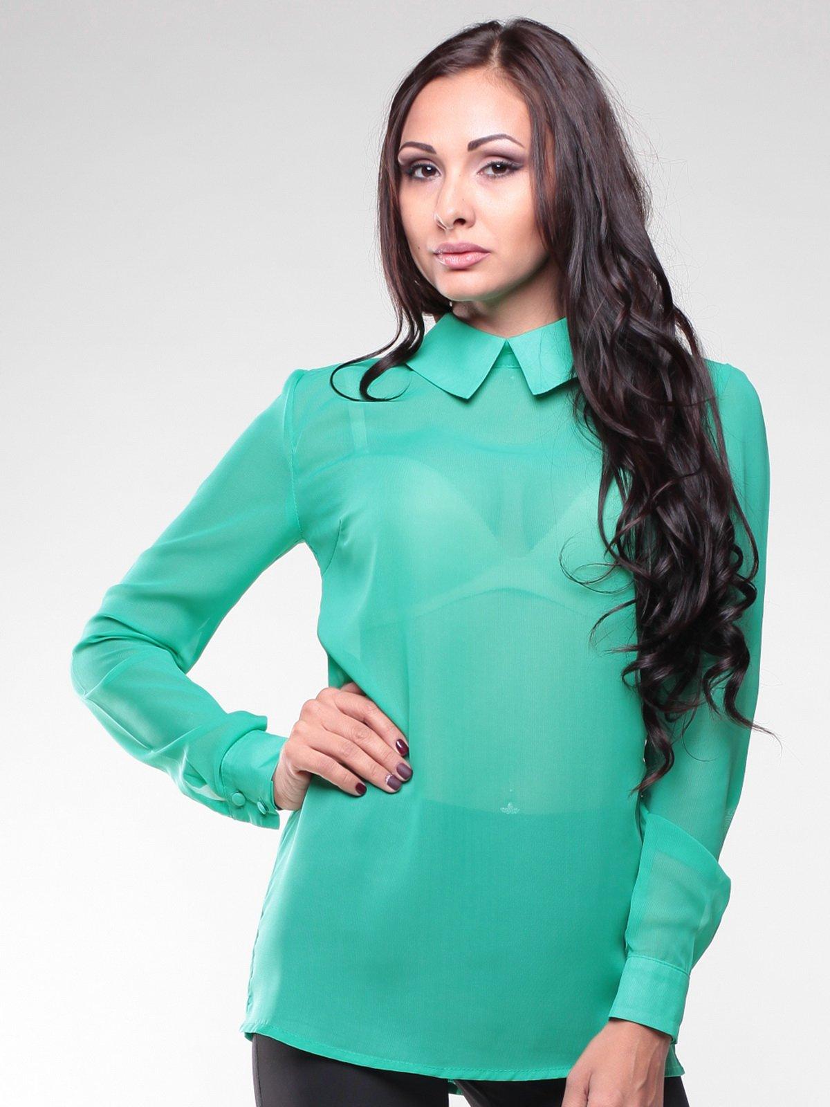 Блуза зеленая | 1934768