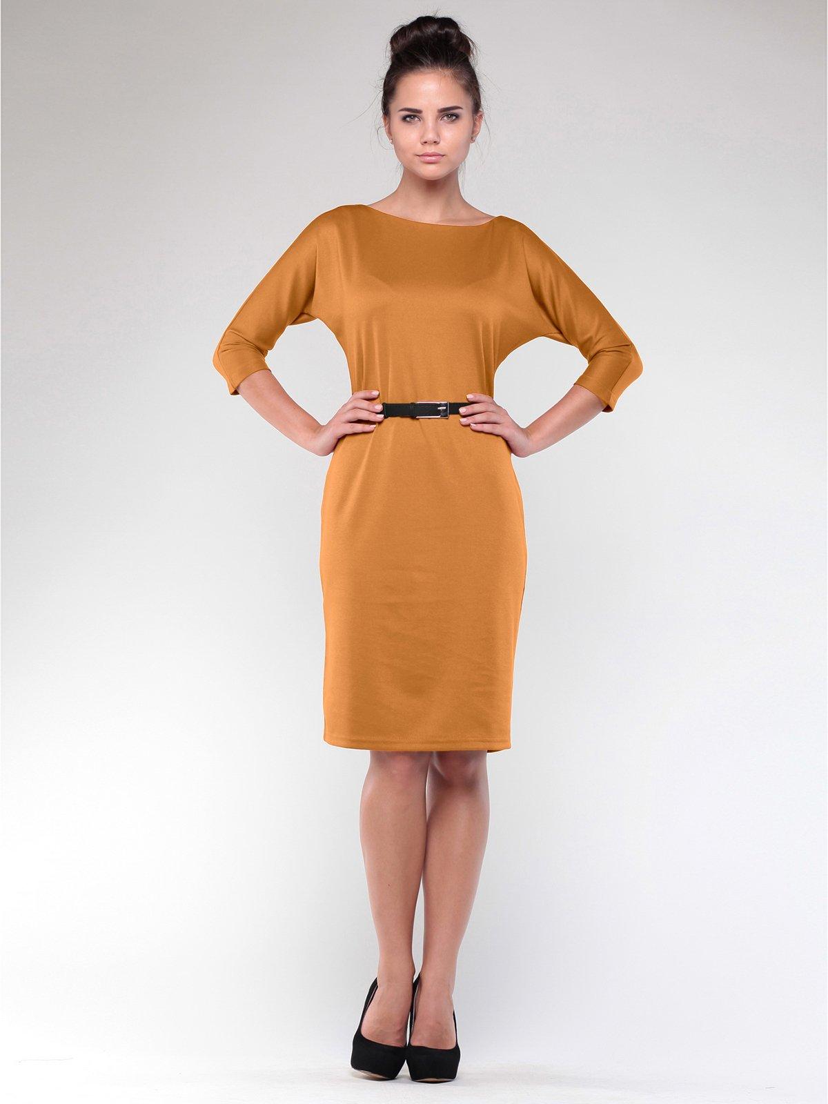 Сукня кольору гірчиці | 1946833