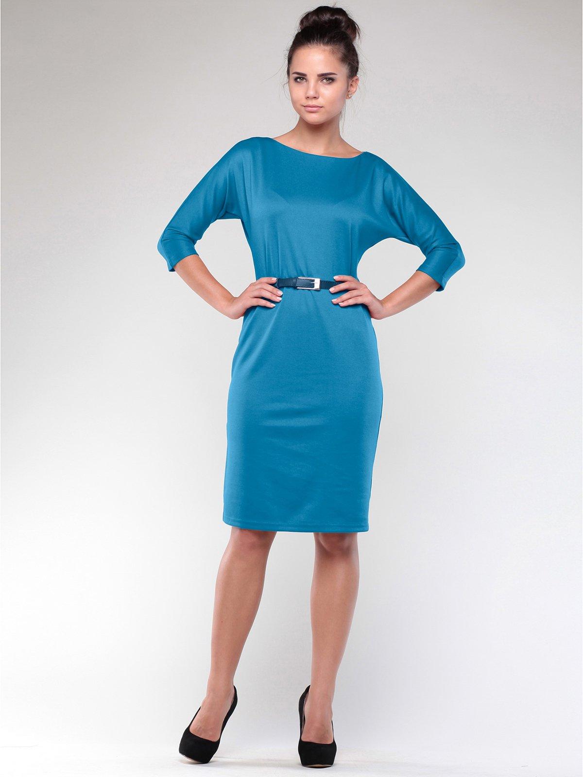 Платье темно-бирюзовое   1946836
