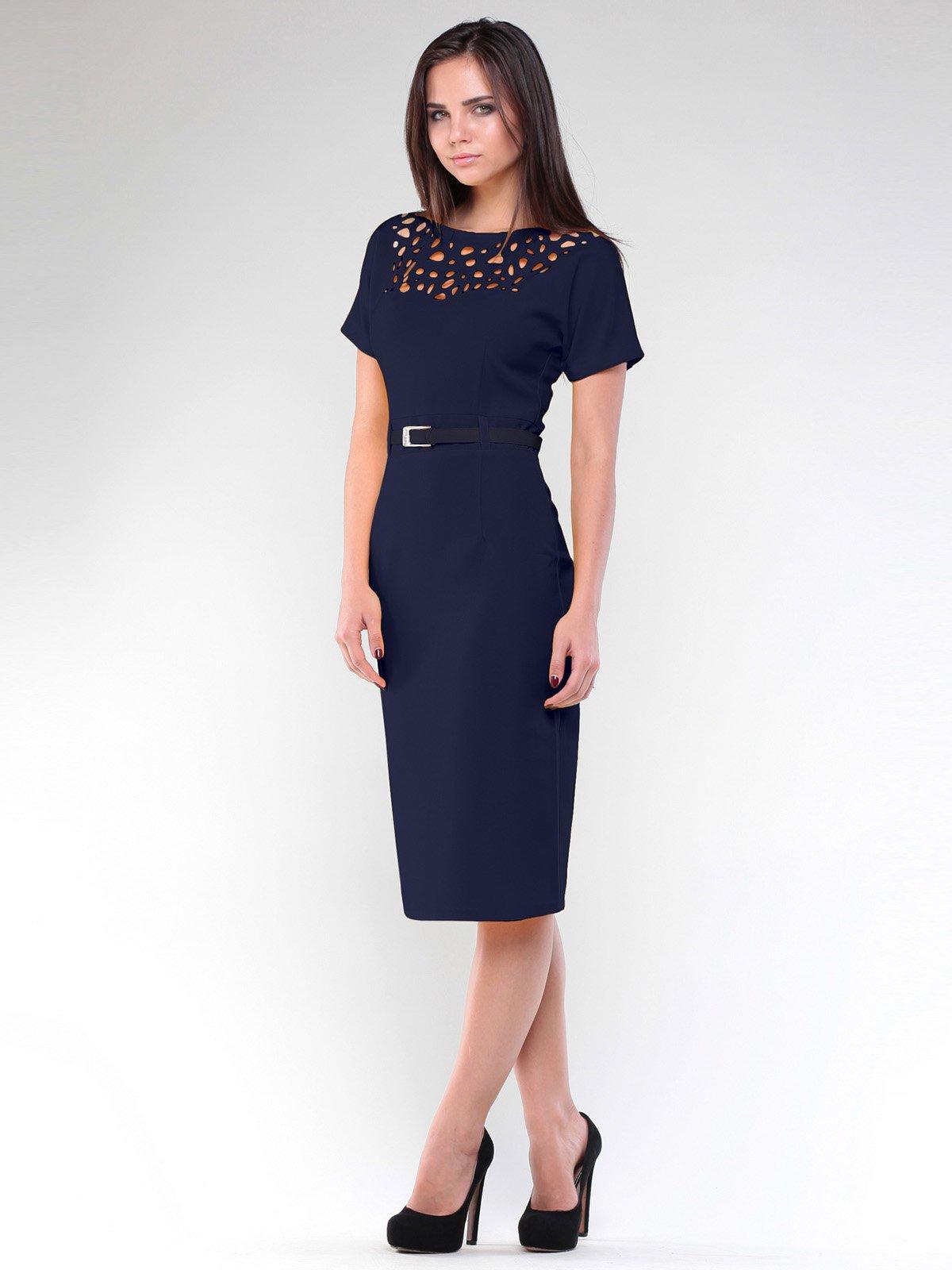 Платье темно-синее   1959013