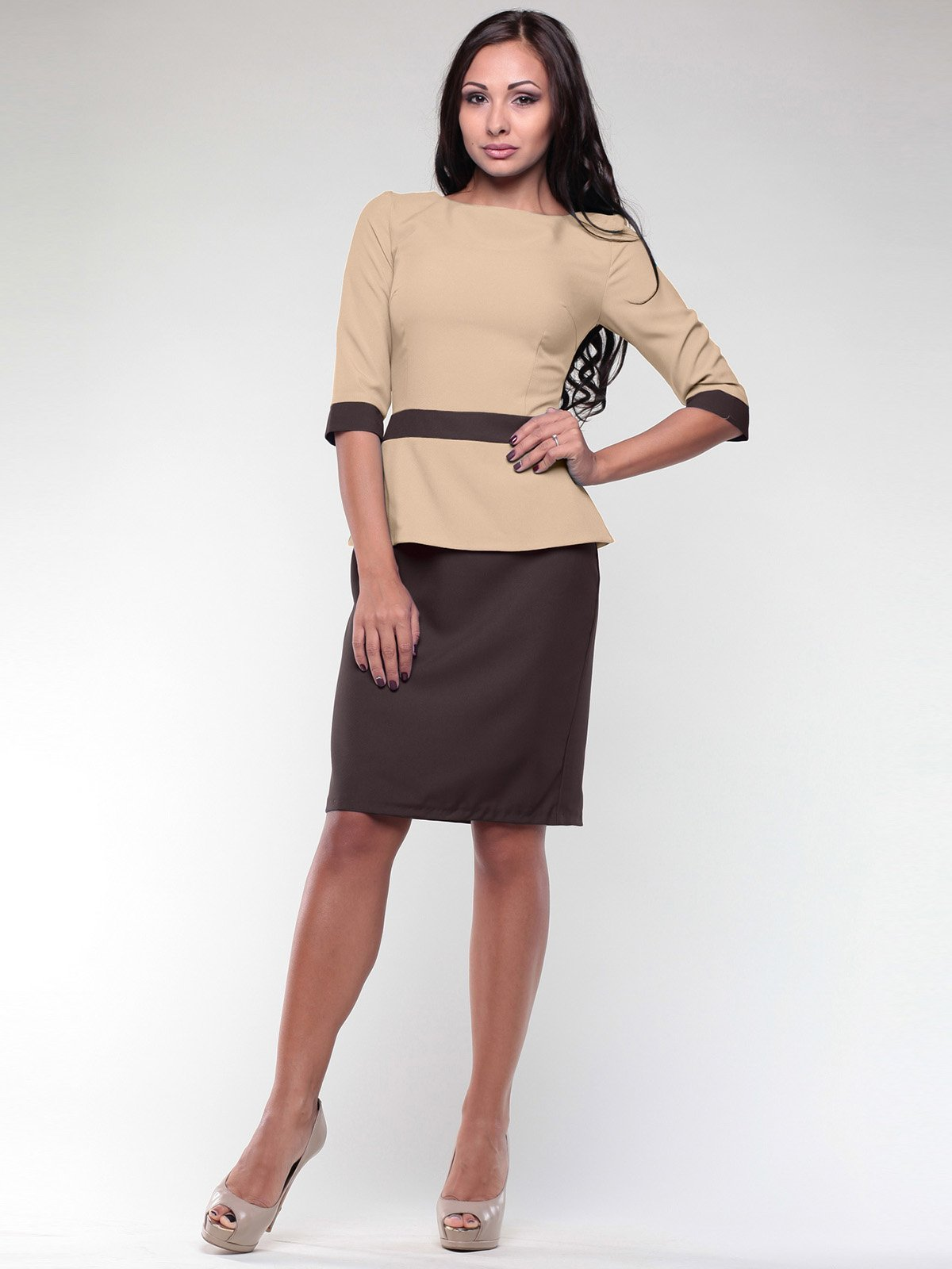 Сукня двоколірна | 1959025