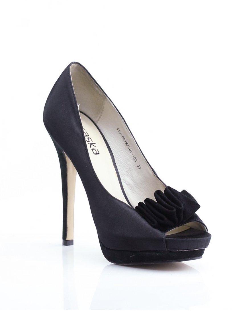 Туфли черные с декором | 1792307