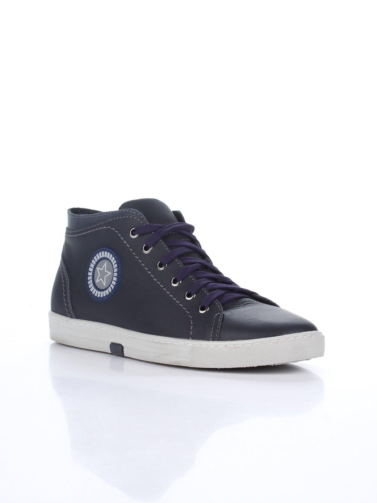 Кроссовки синие | 1960108
