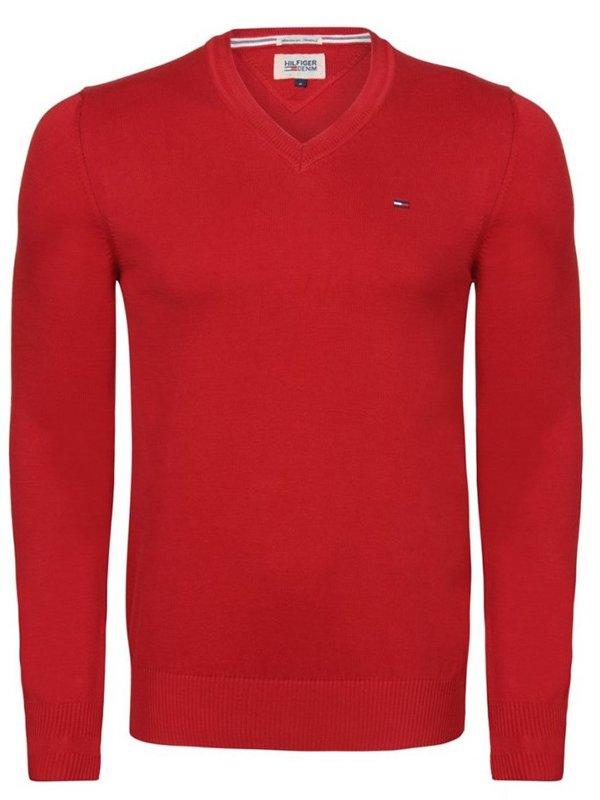 Пуловер червоний | 1959619