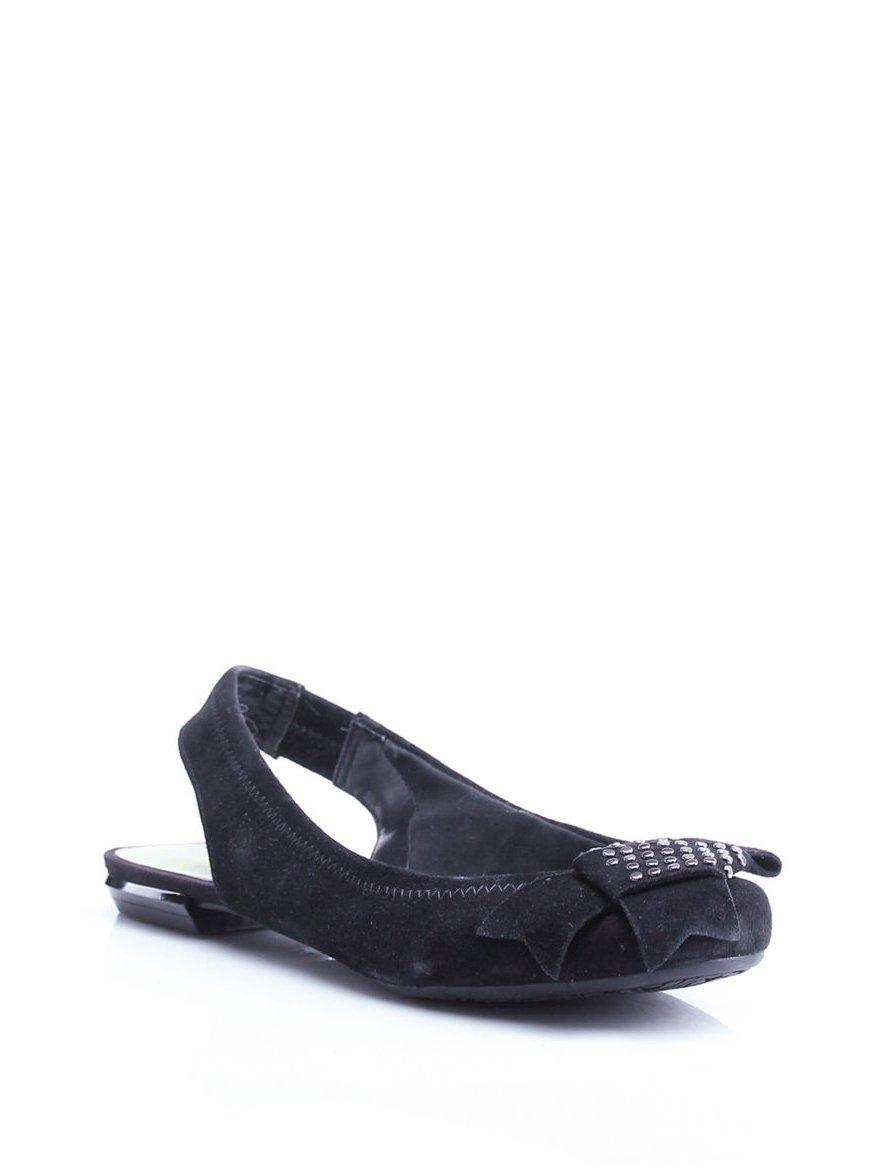 Босоножки черные с декором | 1058795