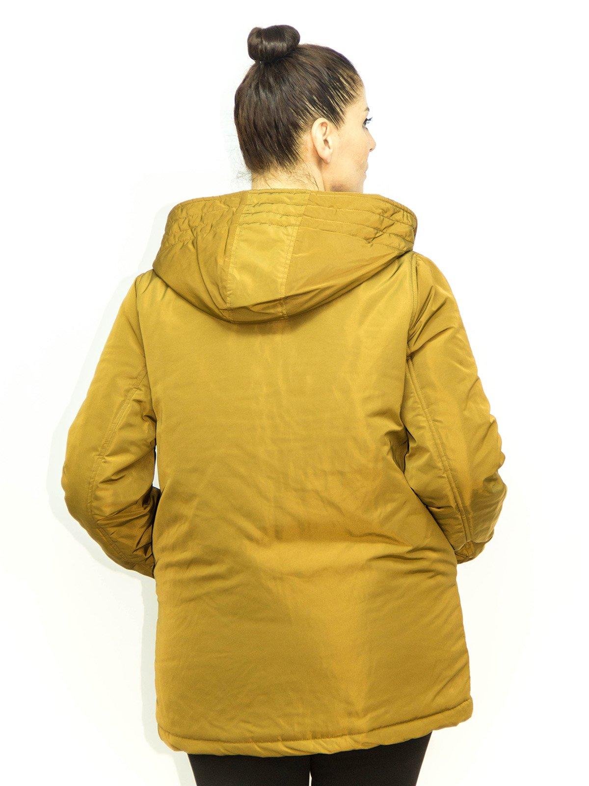 Куртка горчичного цвета | 1965262 | фото 2