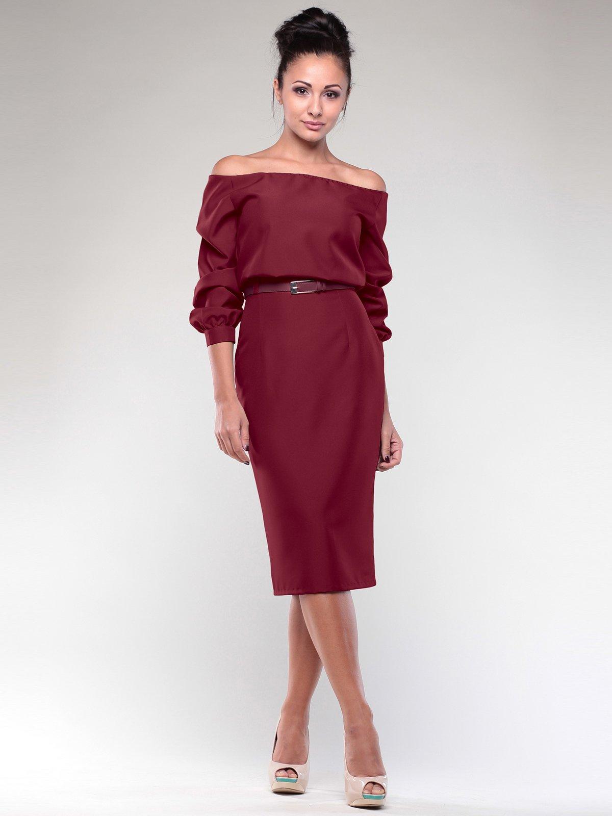 Платье сливового цвета | 1970011