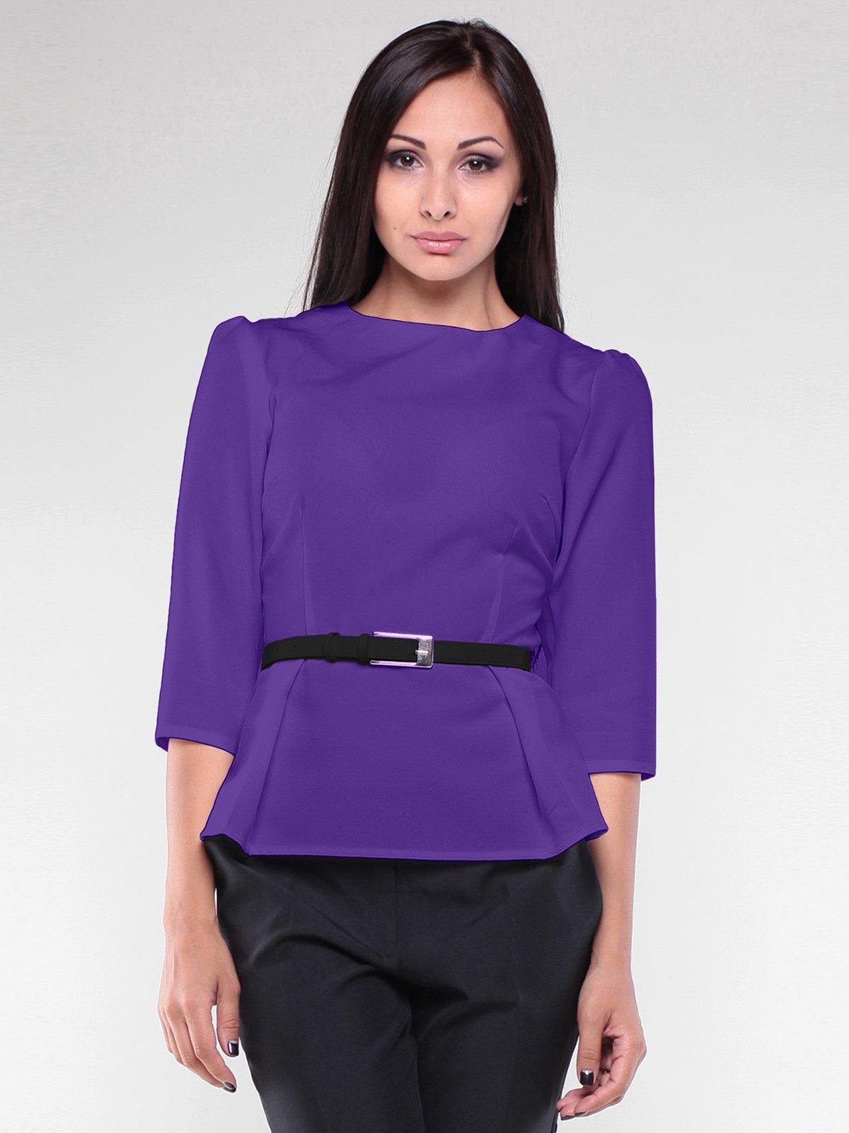 Блуза фиалкового цвета   1970161