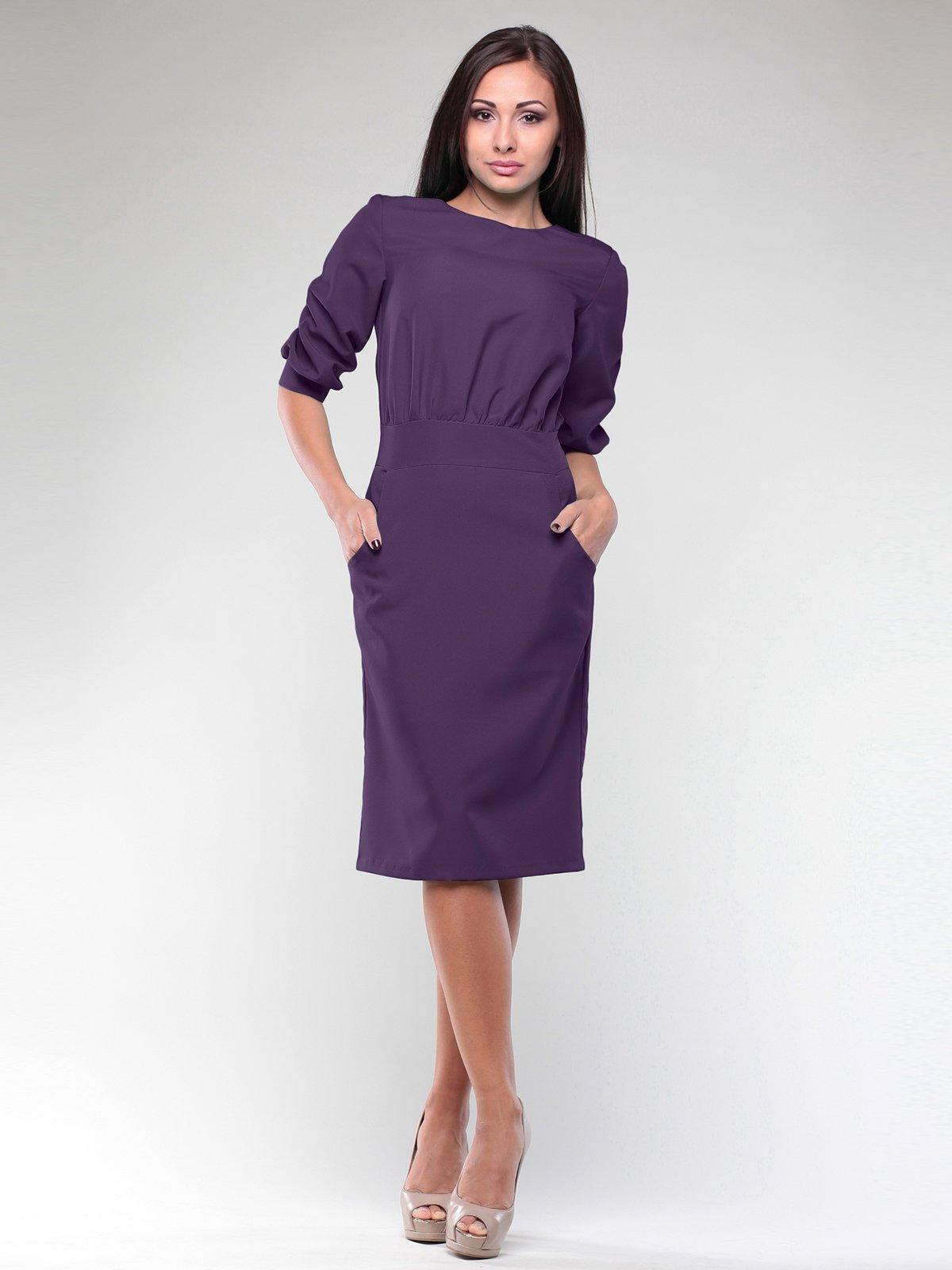 Сукня темно-фіолетова | 1970273