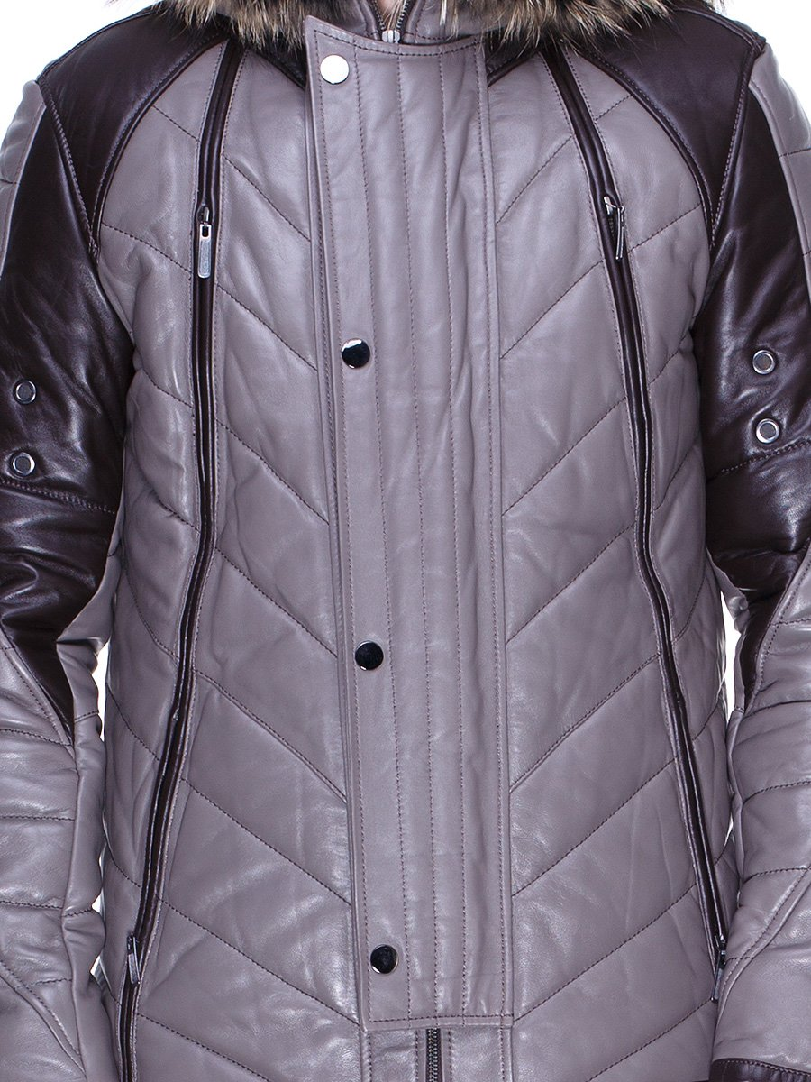 Куртка сіро-коричнева | 1966463 | фото 3