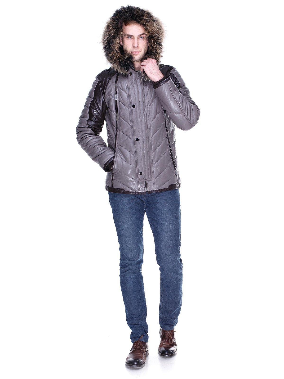 Куртка сіро-коричнева | 1966463 | фото 4